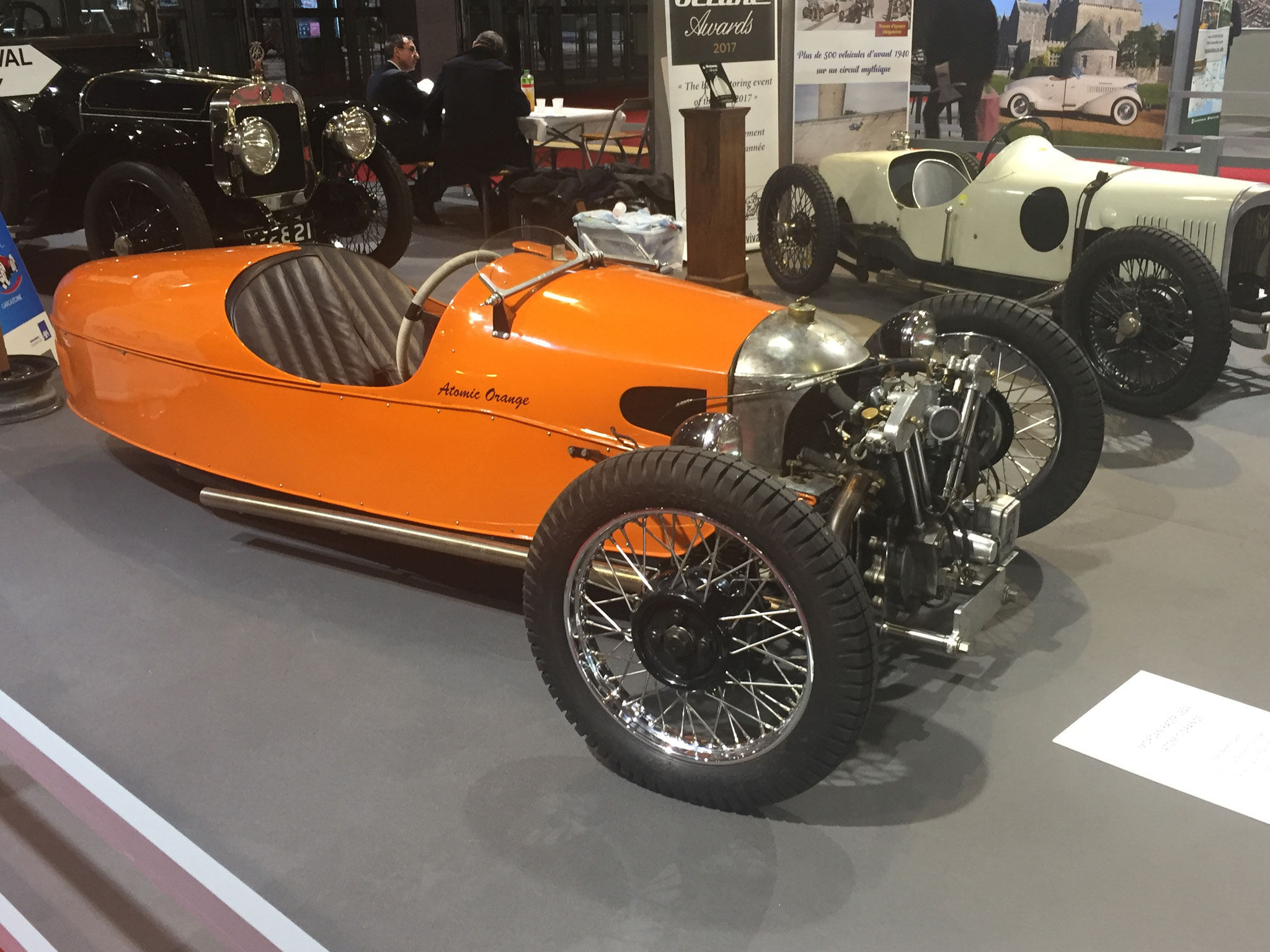 "MORGAN RACER ""ATOMIC ORANGE"" (1933)"