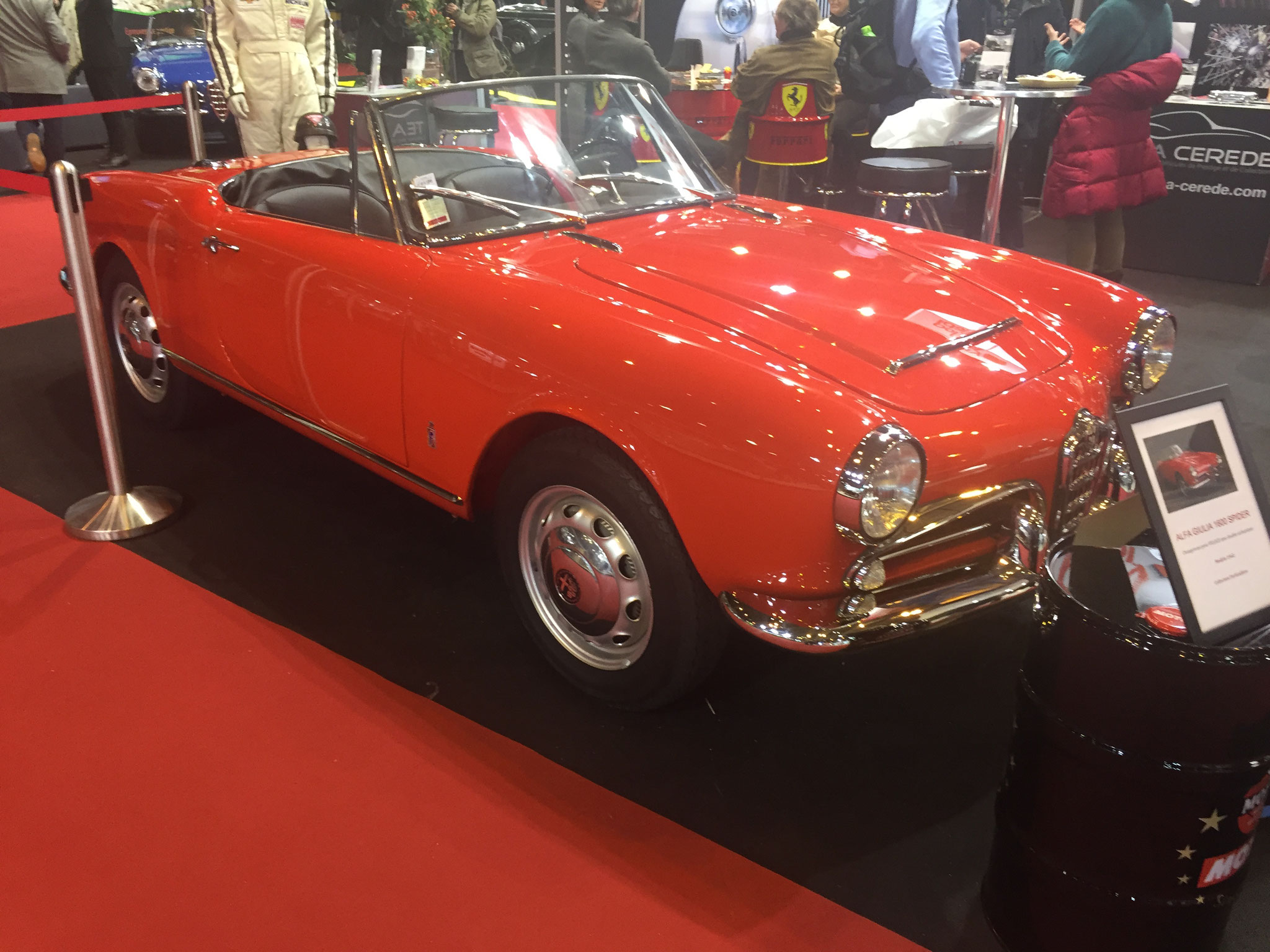 ALFA GIULIA 1600 SPIDER (1962)