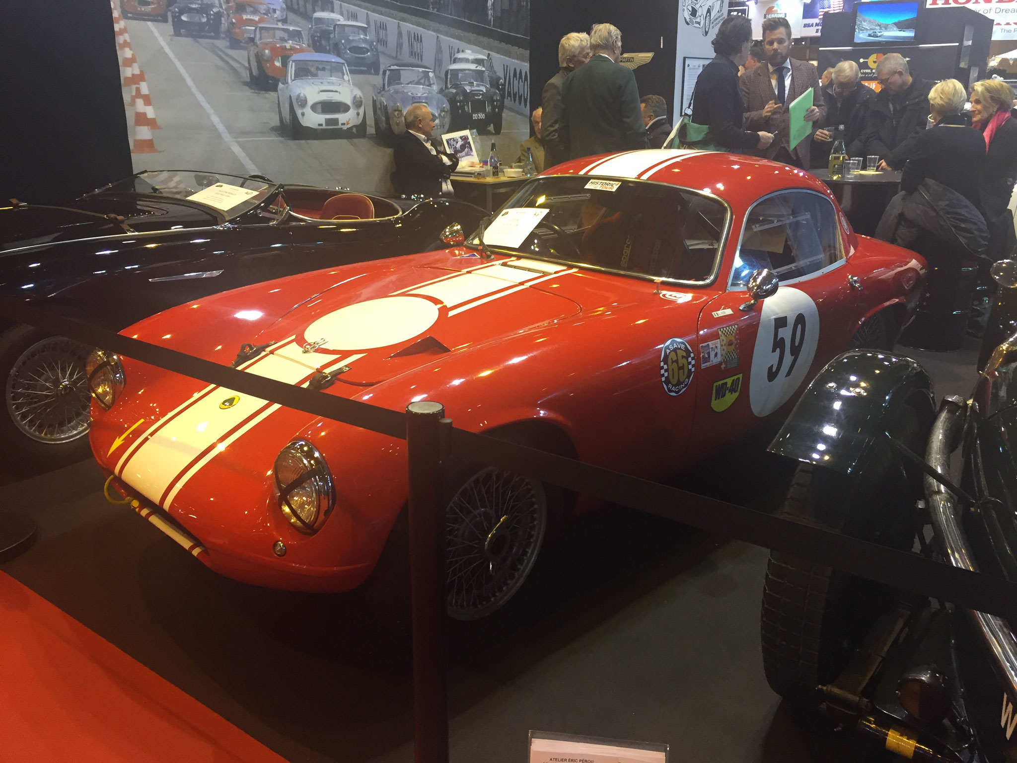 LOTUS ELITE S1. FIA