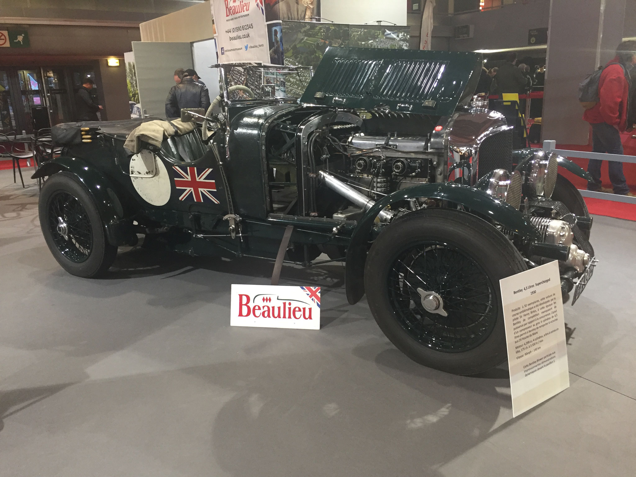 BENTLEY 4,5 LITRES SUPERCHARGED (1930)