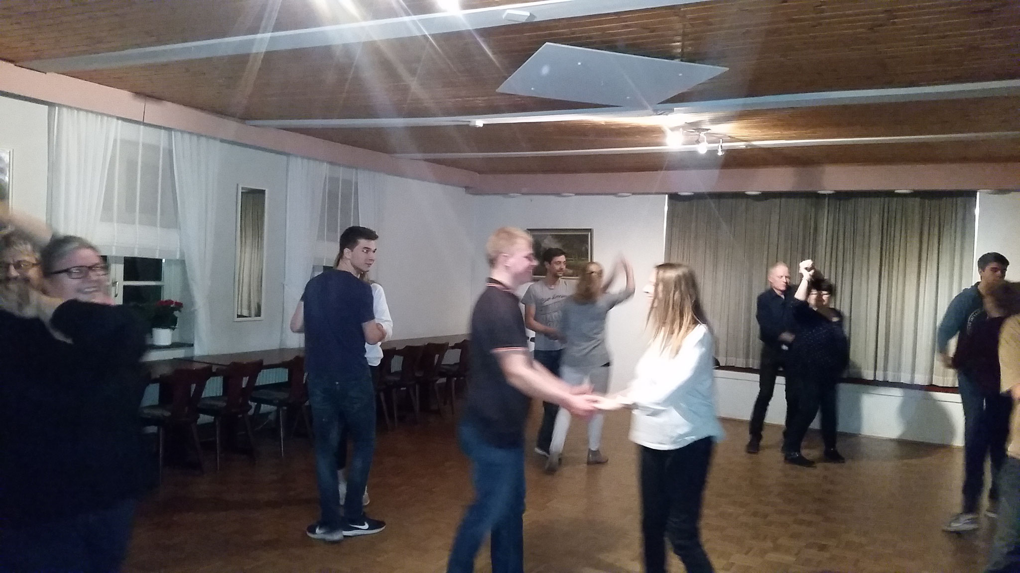 Unsere Tanzkurse in der alten Vereinsstätte Dannewerk bei Schleswig