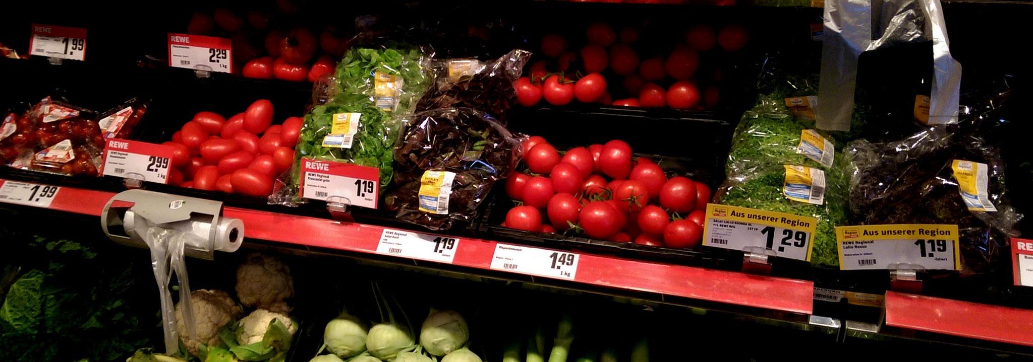 Bestes Obst und Gemüse - bei nahkauf immer frisch und lecker!