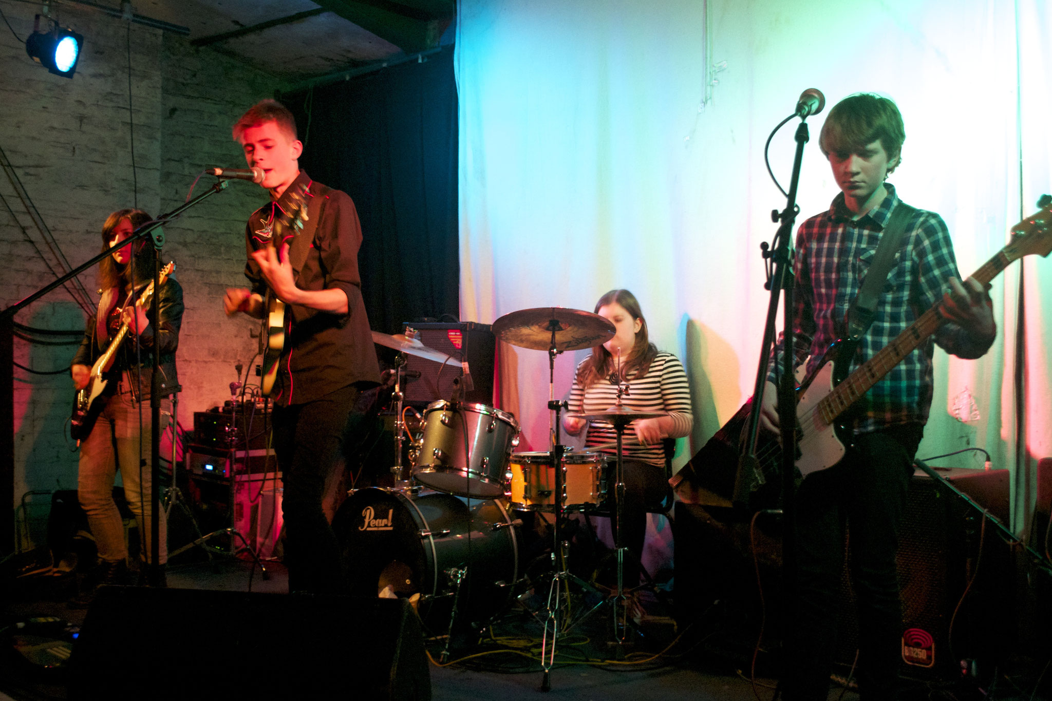 grasshopper @ Green Door Store, Brighton - 17/02/14. Credit: Richard Ward.
