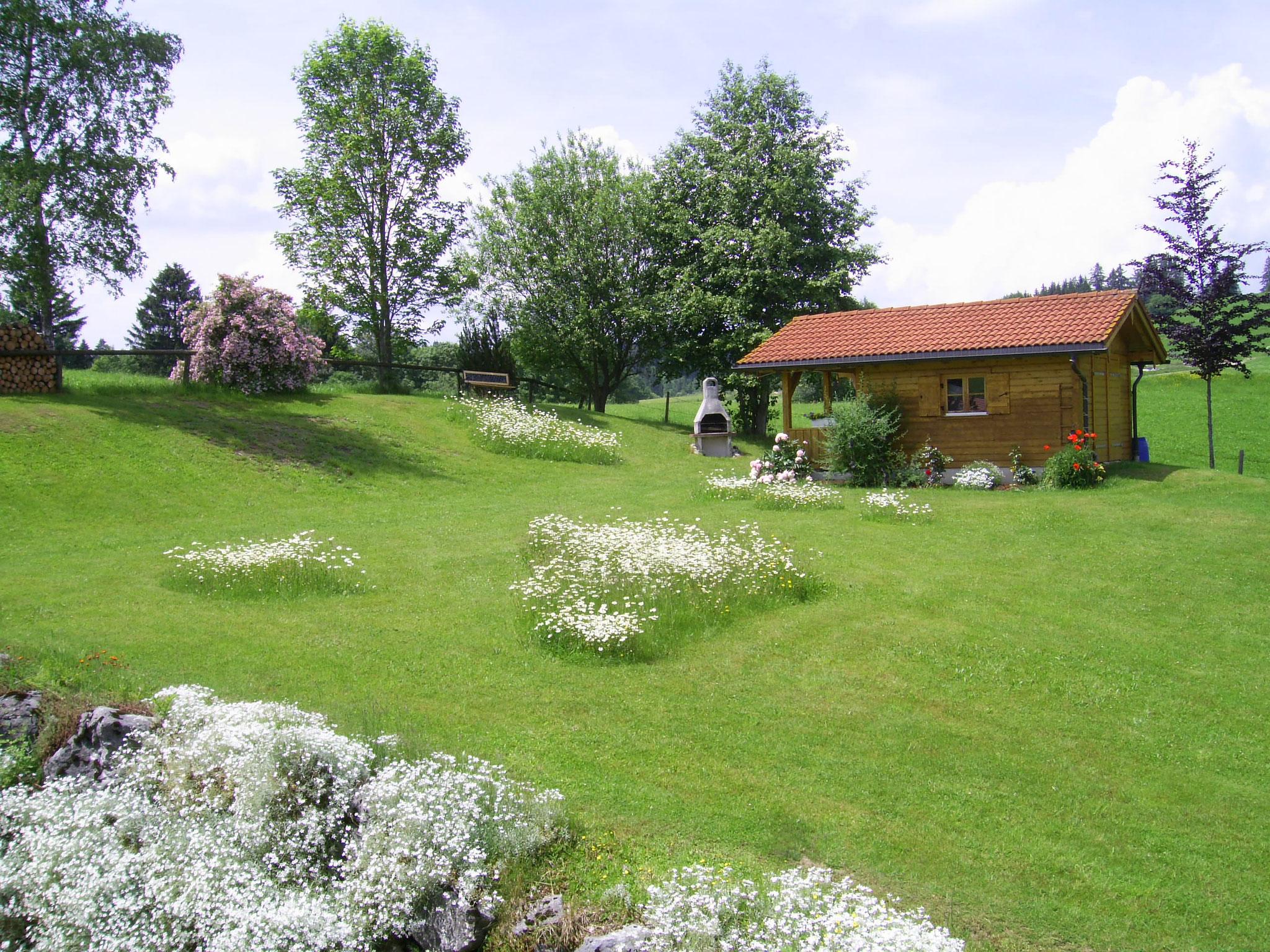 wertach-Ferienwohnungen.de Unser Garten vom Gästehaus Nattererhof
