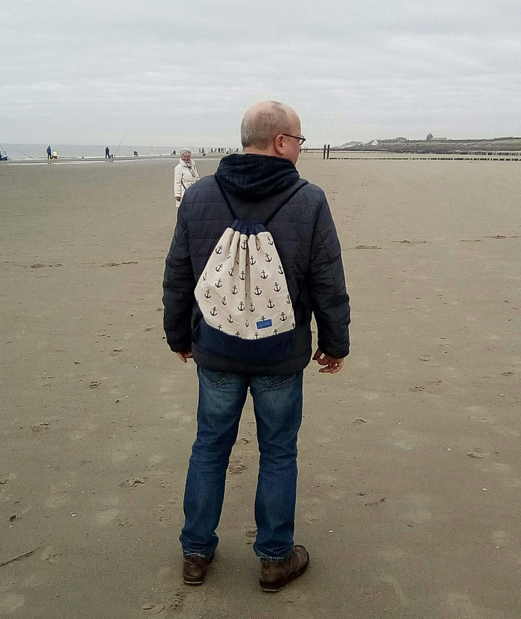 Unterwegs mit Anker-Rucksack in Holland!