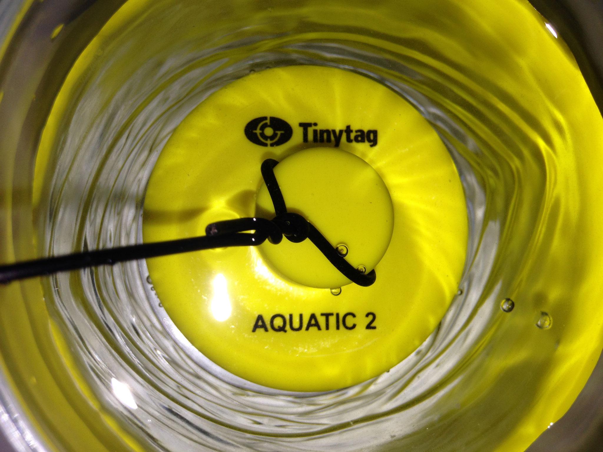 Tinytag Aquatic 2 étanche autonome et robuste