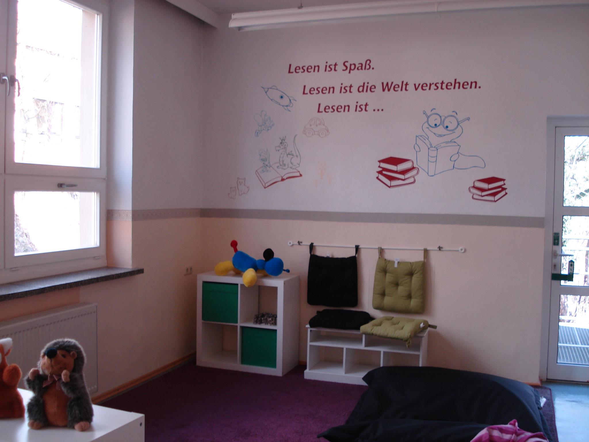 Bibliothek - Leseecke