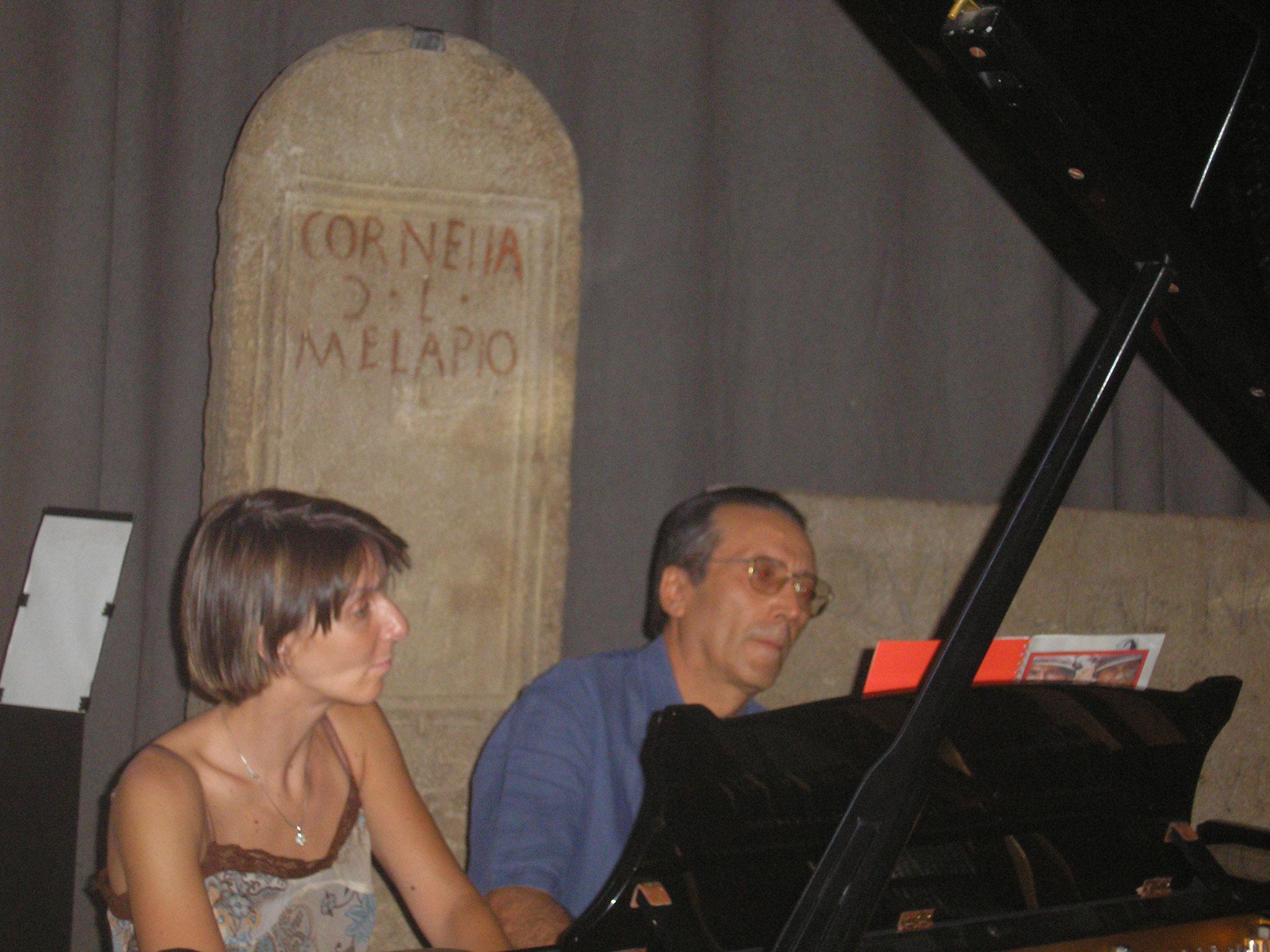 Con Rossella Spinosa a Reggio Emilia prima di Maggio al Cinema Rosebud il 9 agosto 2007