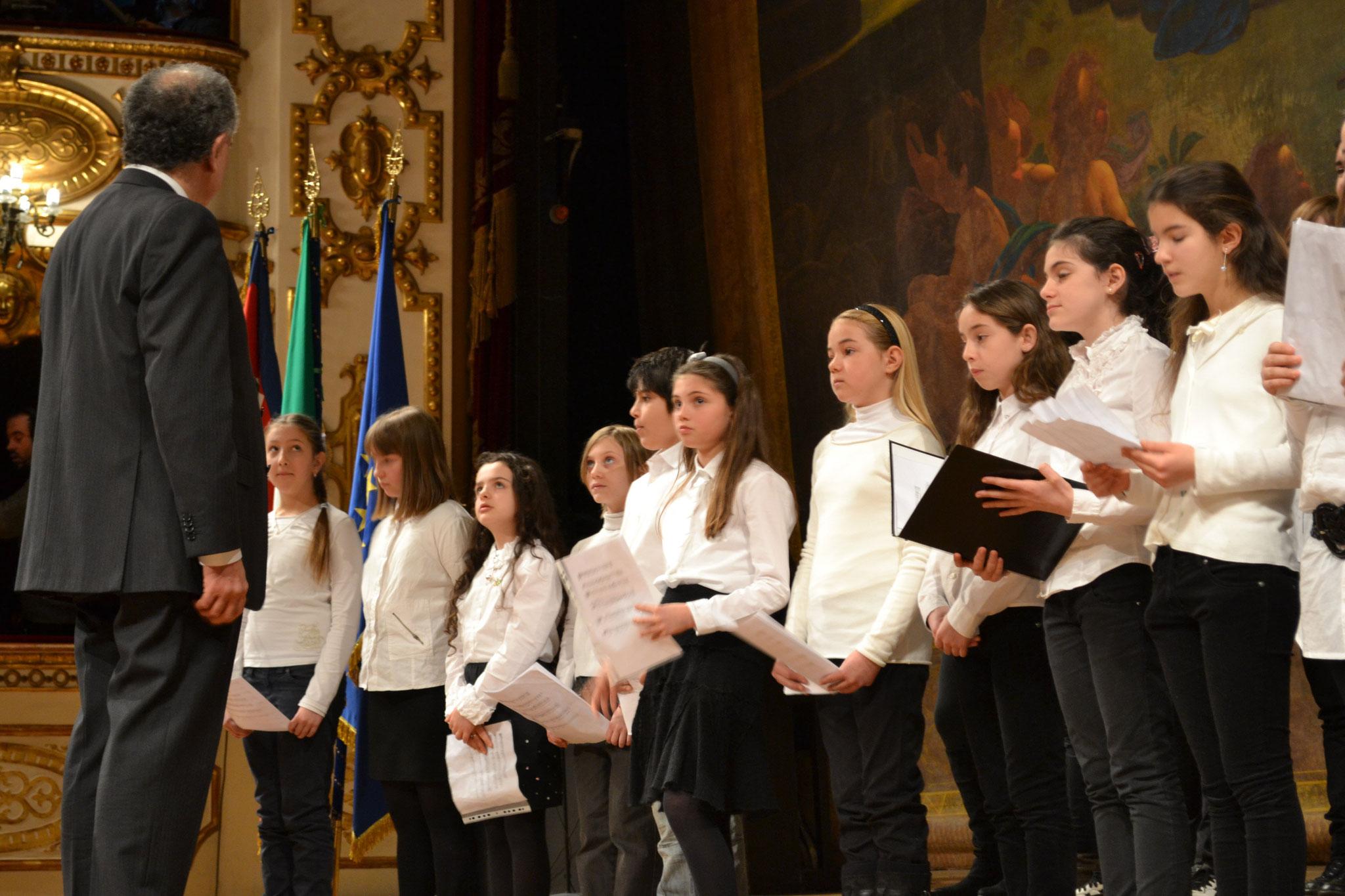 In occasione del 7 gennaio 2011 al Valli con il Presidente Napolitano