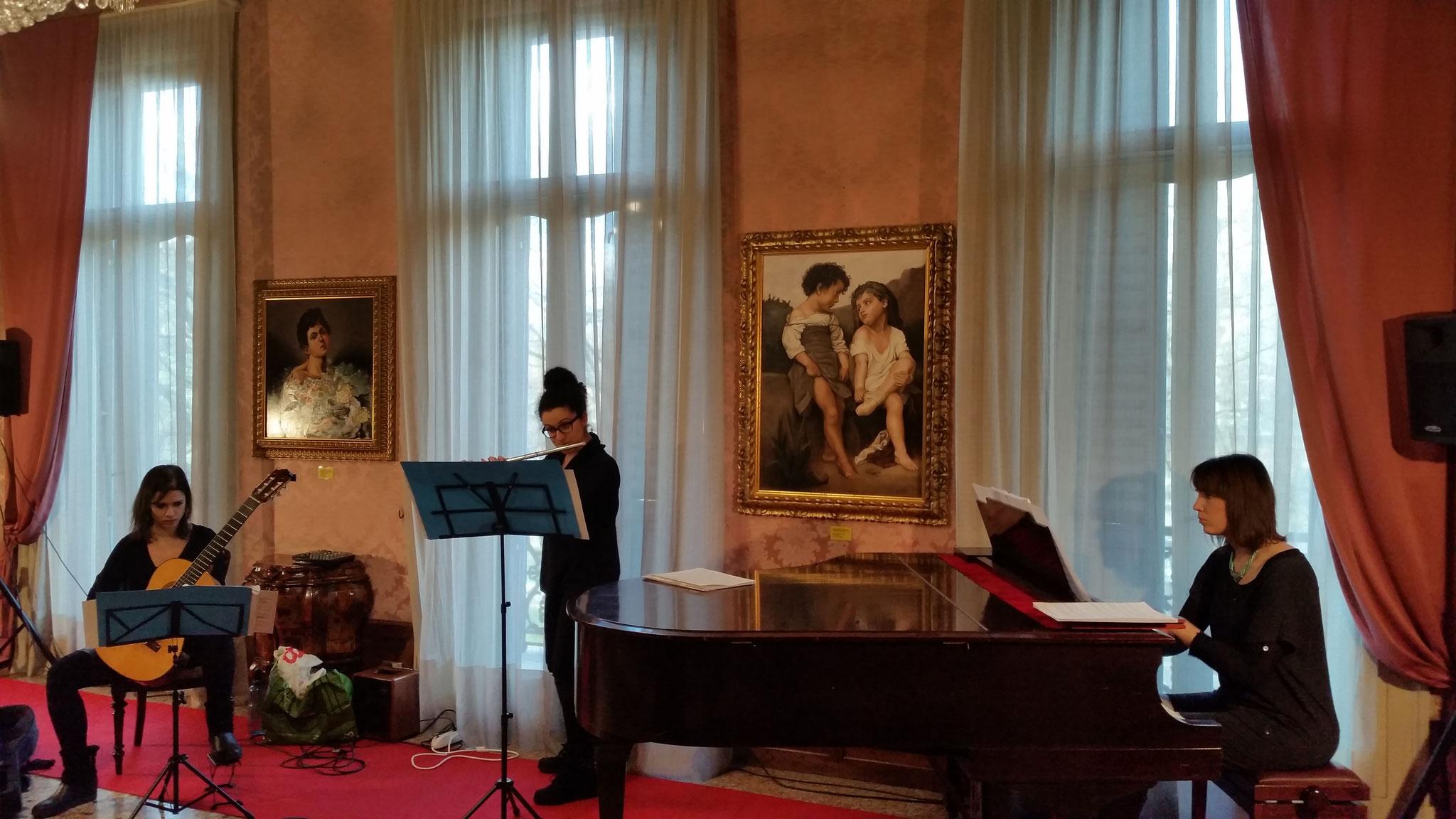 Aurora al Salotto Aggazzotti di Modena eseguito da Auroraensemble il 5 marzo 2017