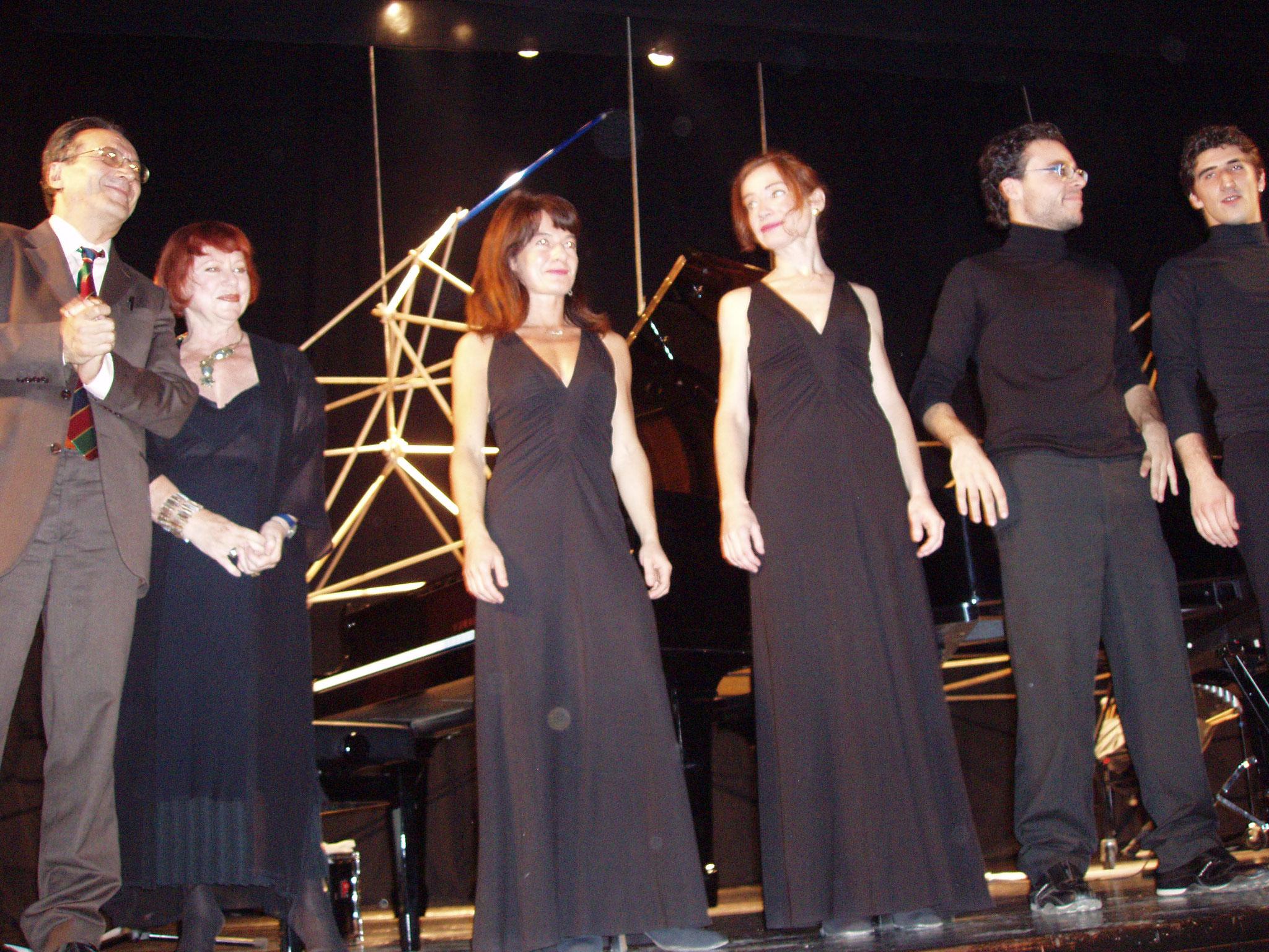 Miracoli del Mercato dei pesci a Mazara del Vallo con il duo pianistico Brunialti/Biondi e il duo percussioni Errera/Cavaliere il 10 novembre 2006