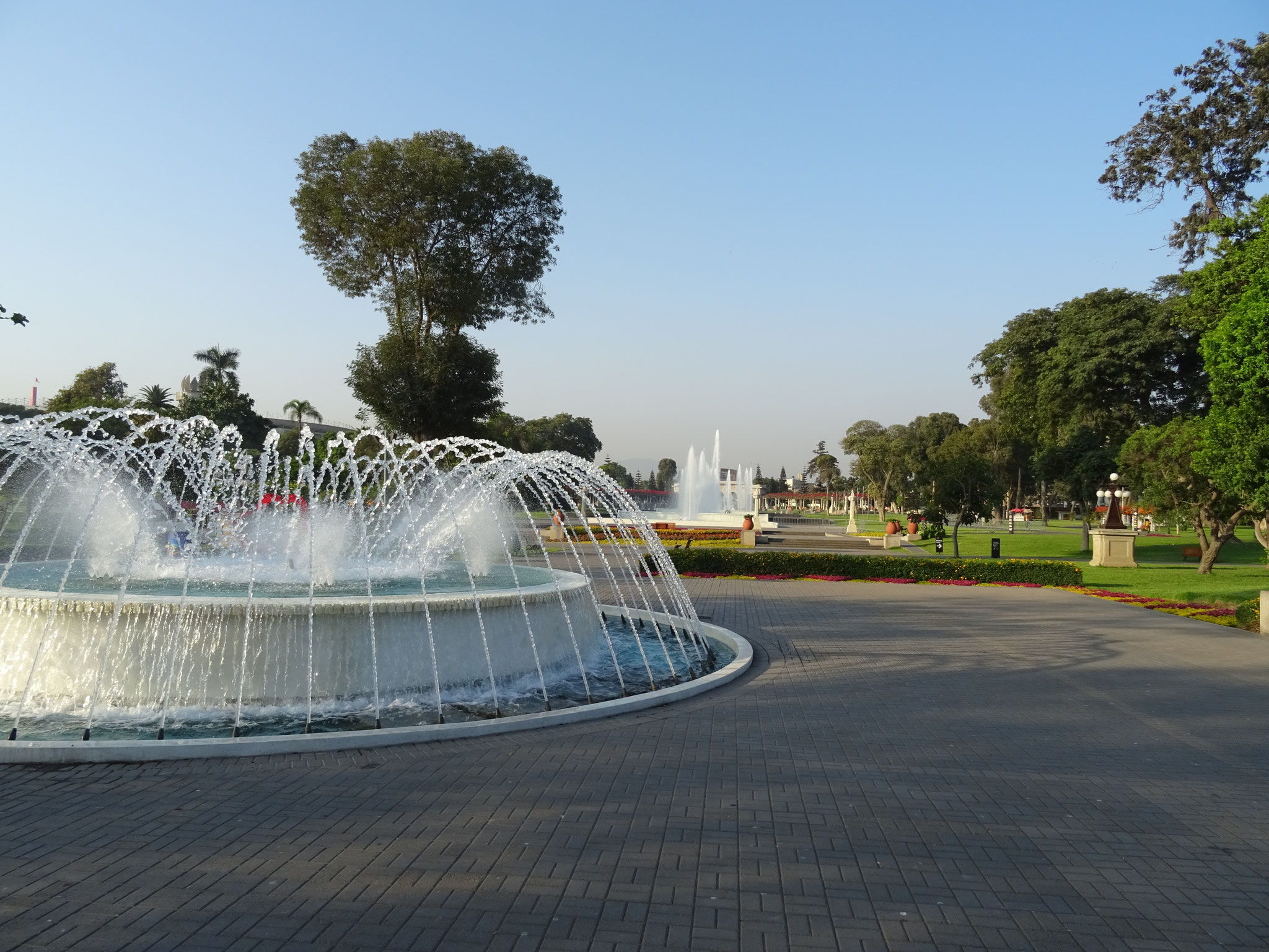 Parque des fontaines