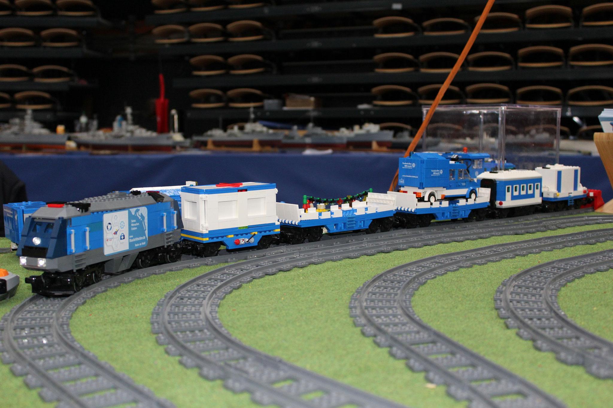 THW Eisenbahnzug