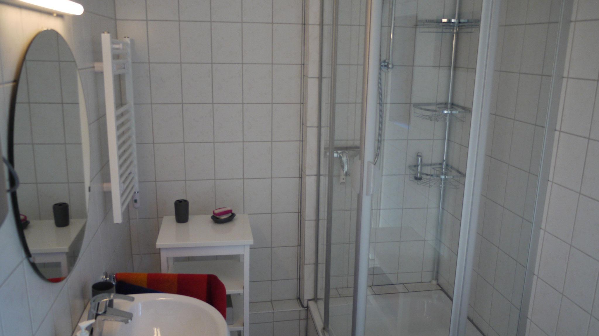 Bad mit Handtuchheizung