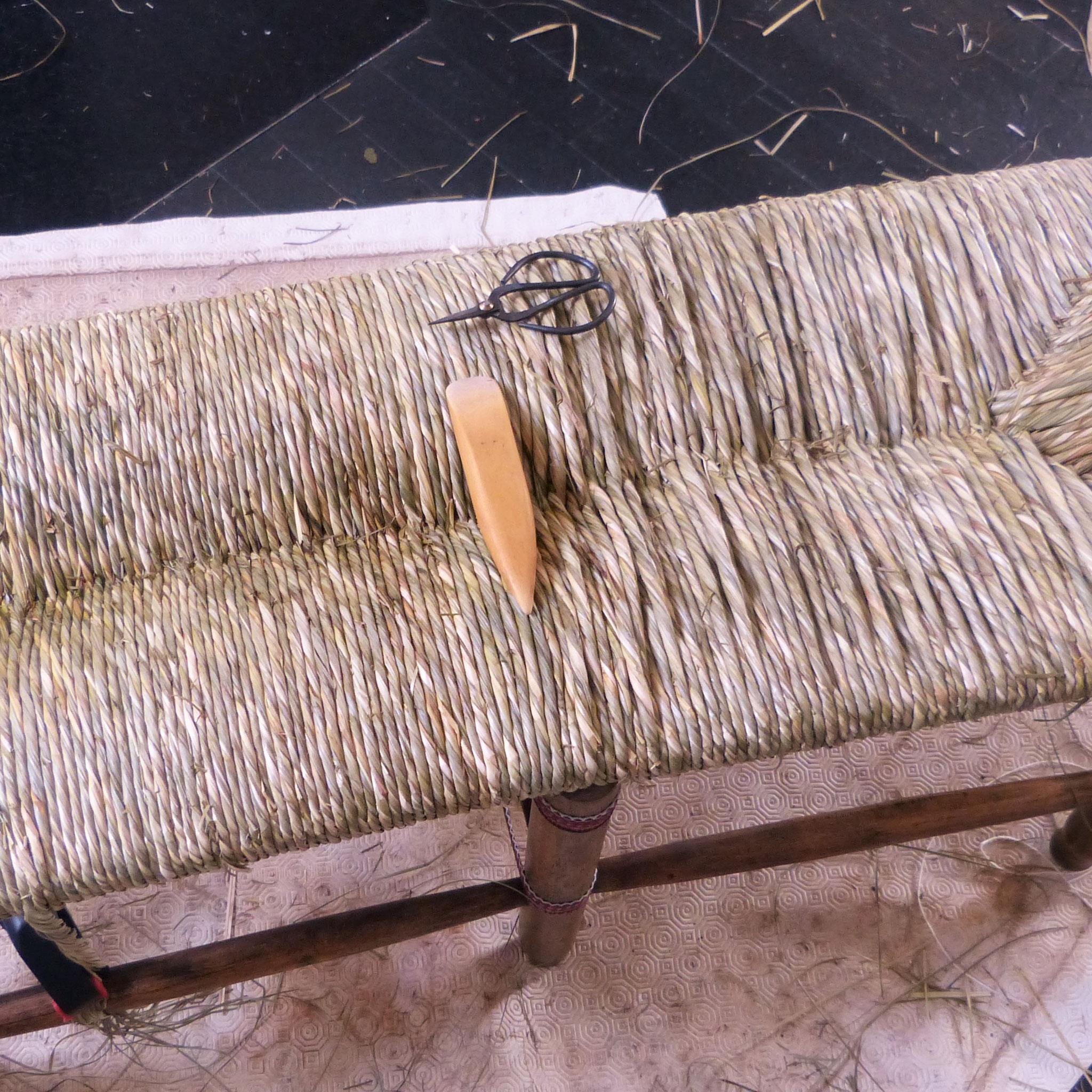 Cordons rangés et lissés / cordons bruts