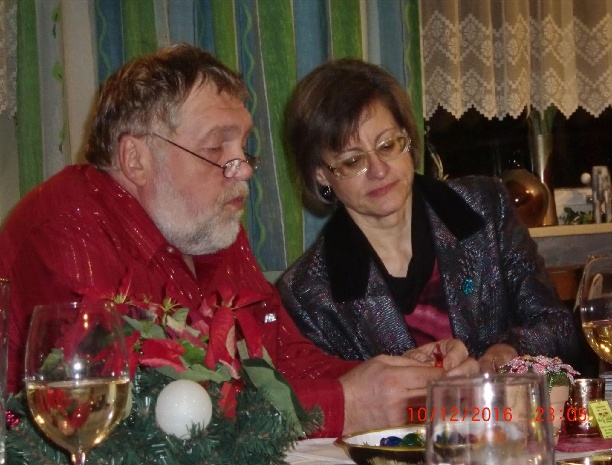 Andrea  mit Hans