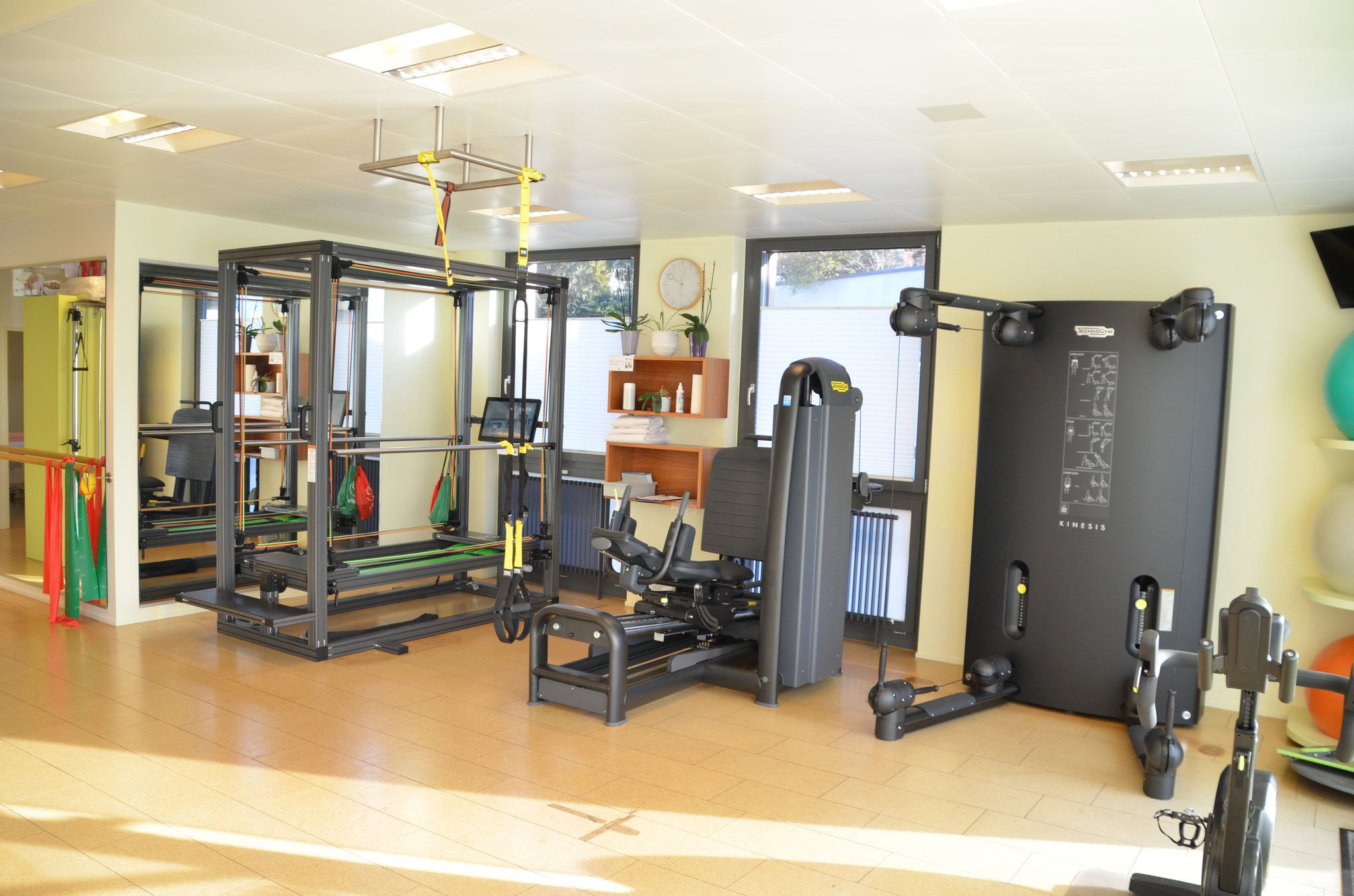 Trainingsraum, Senso Pro und Legg Press