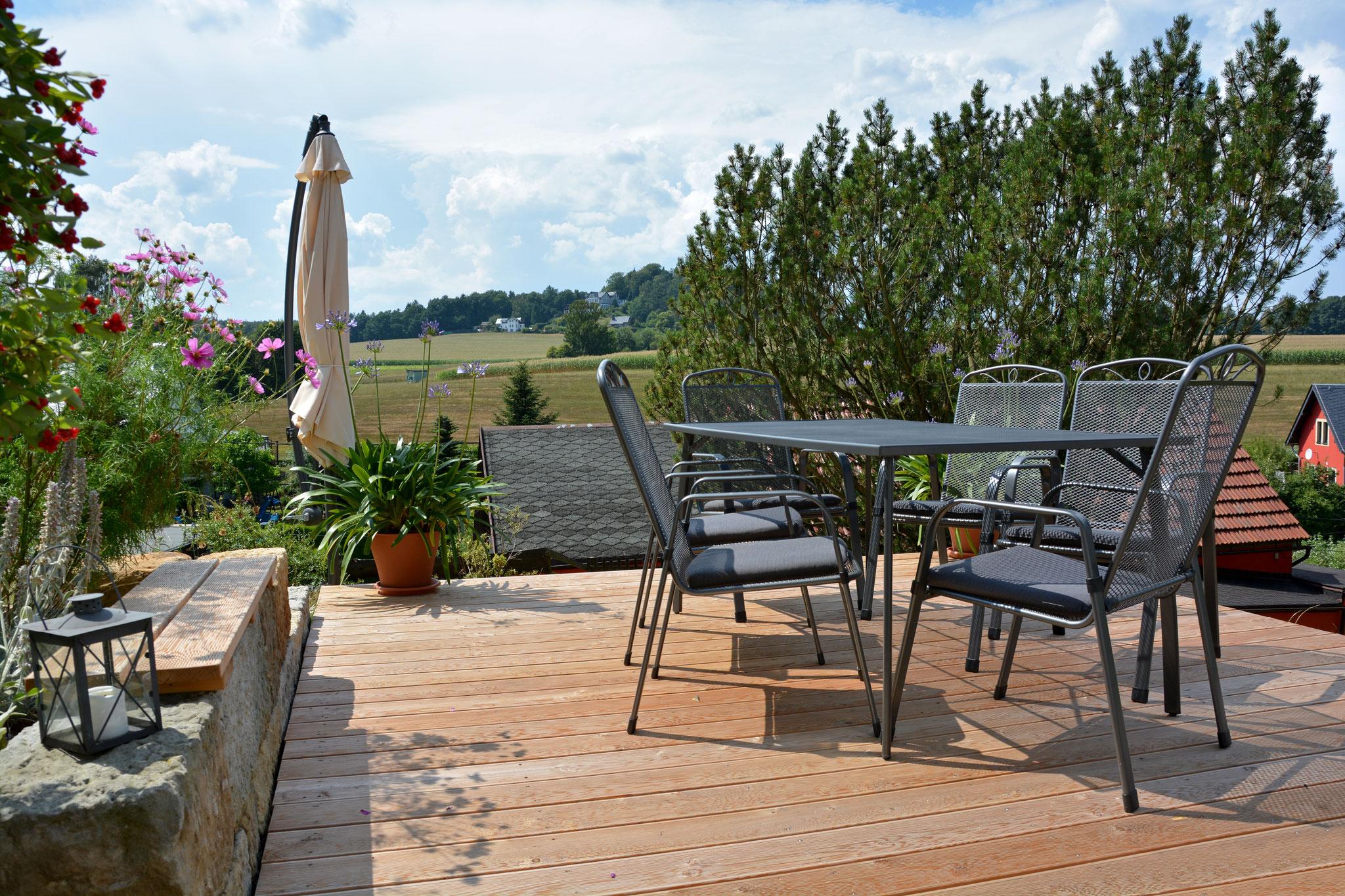 Terrasse im Freien