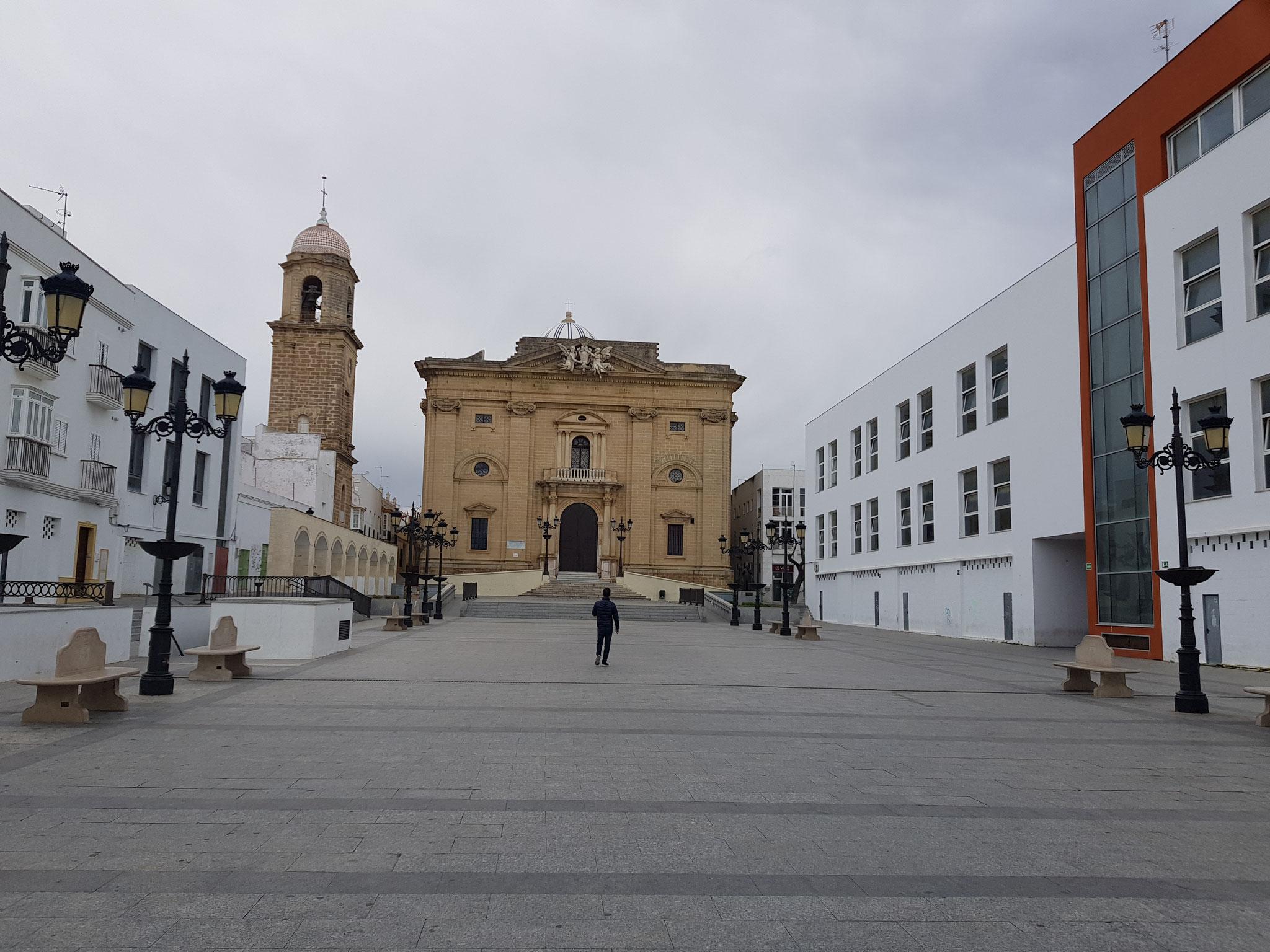 Plaza Mayor in Chiclana