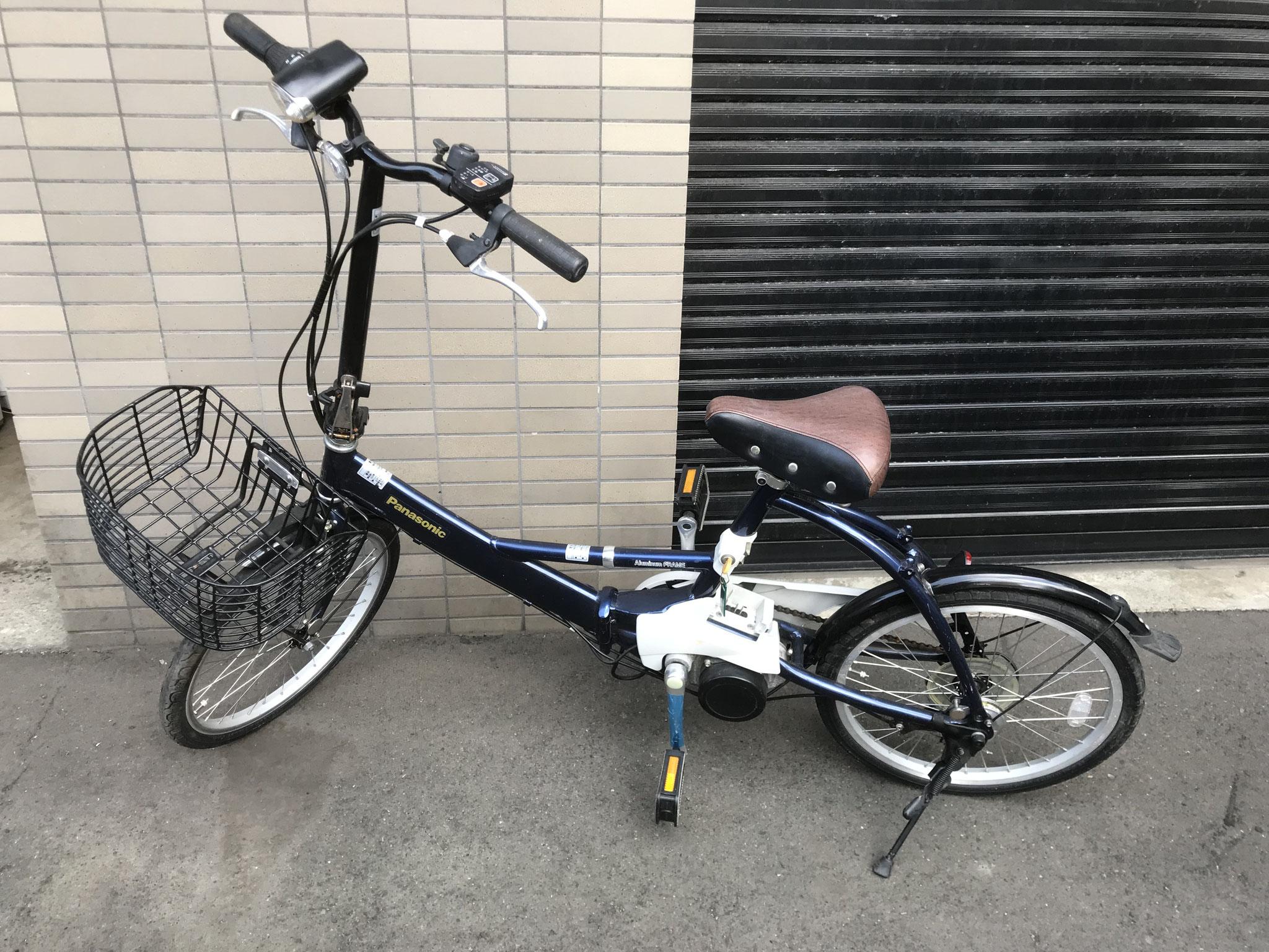 札幌 20インチ折り畳み電動自転車 買取価格5000円