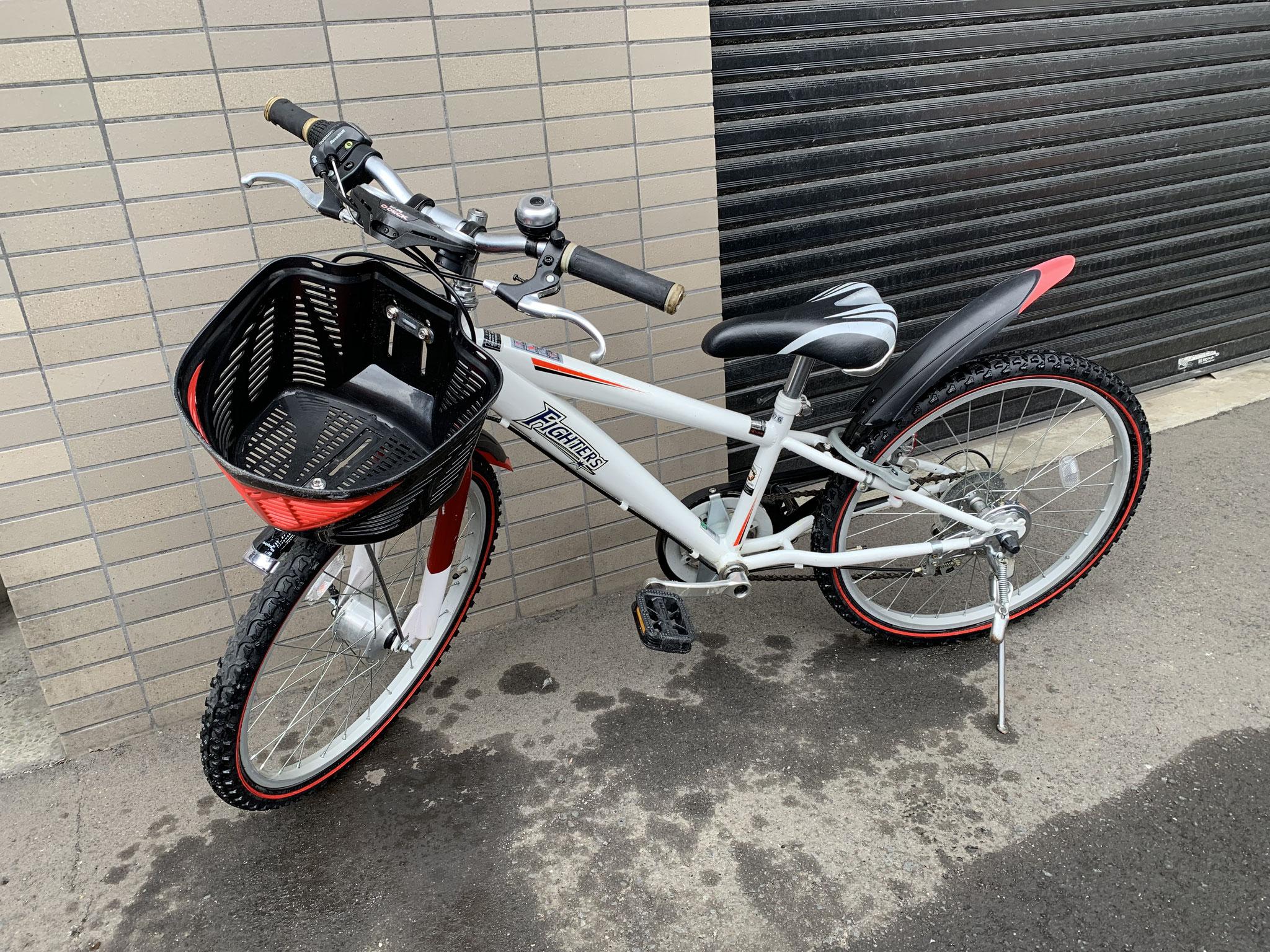 札幌 22インチ子供用自転車 買取価格1500円