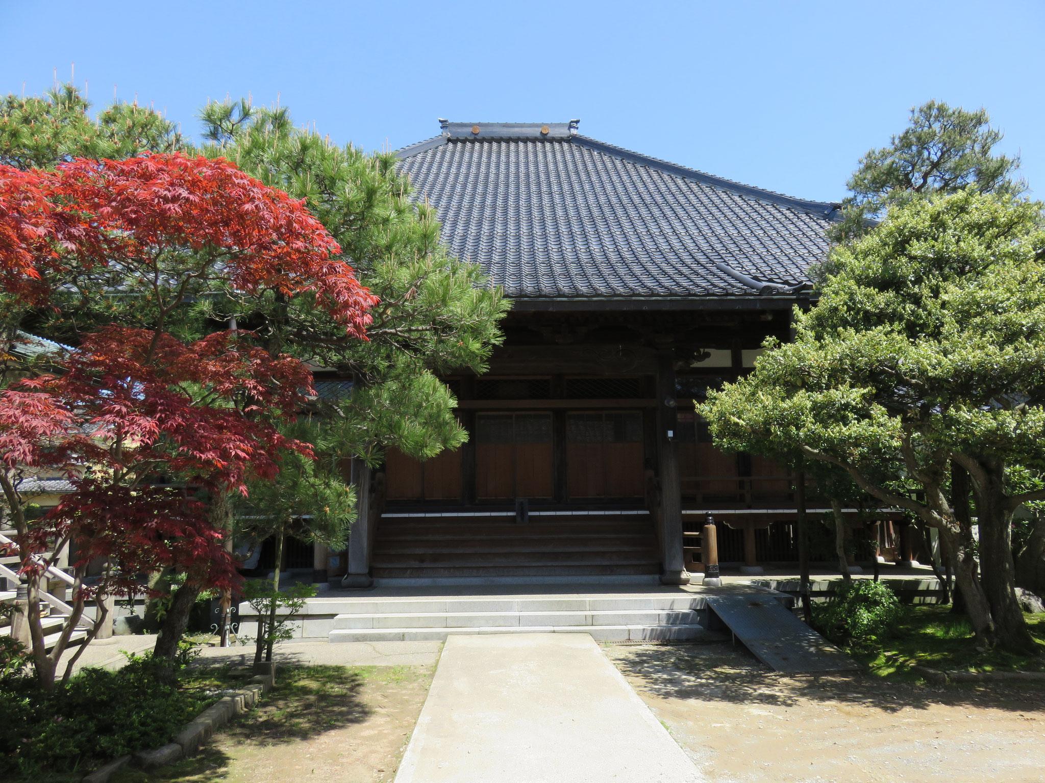 上宮寺で毎週お参りをします
