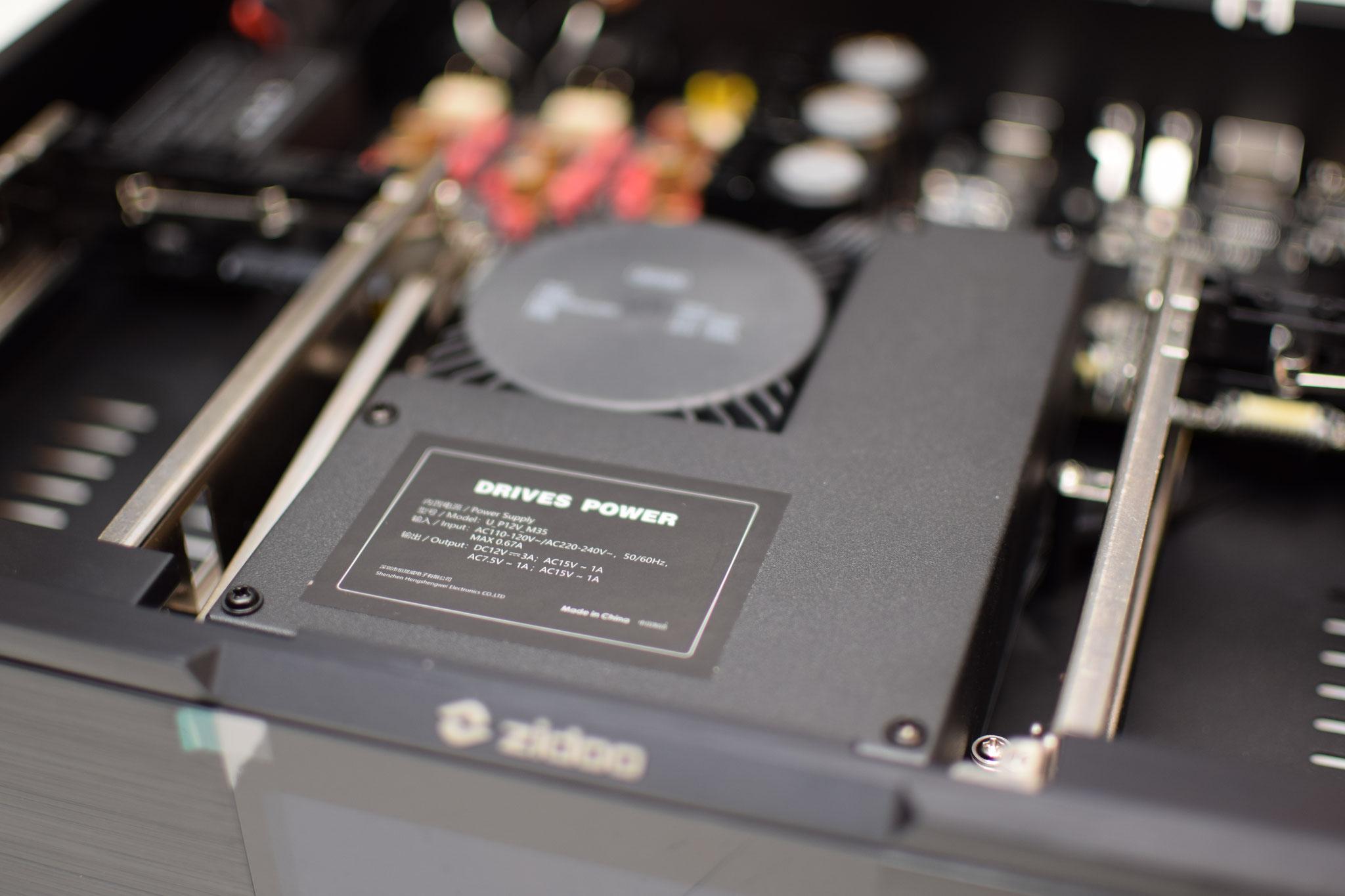 Zidoo UHD 3000 neues Linearnetzteil