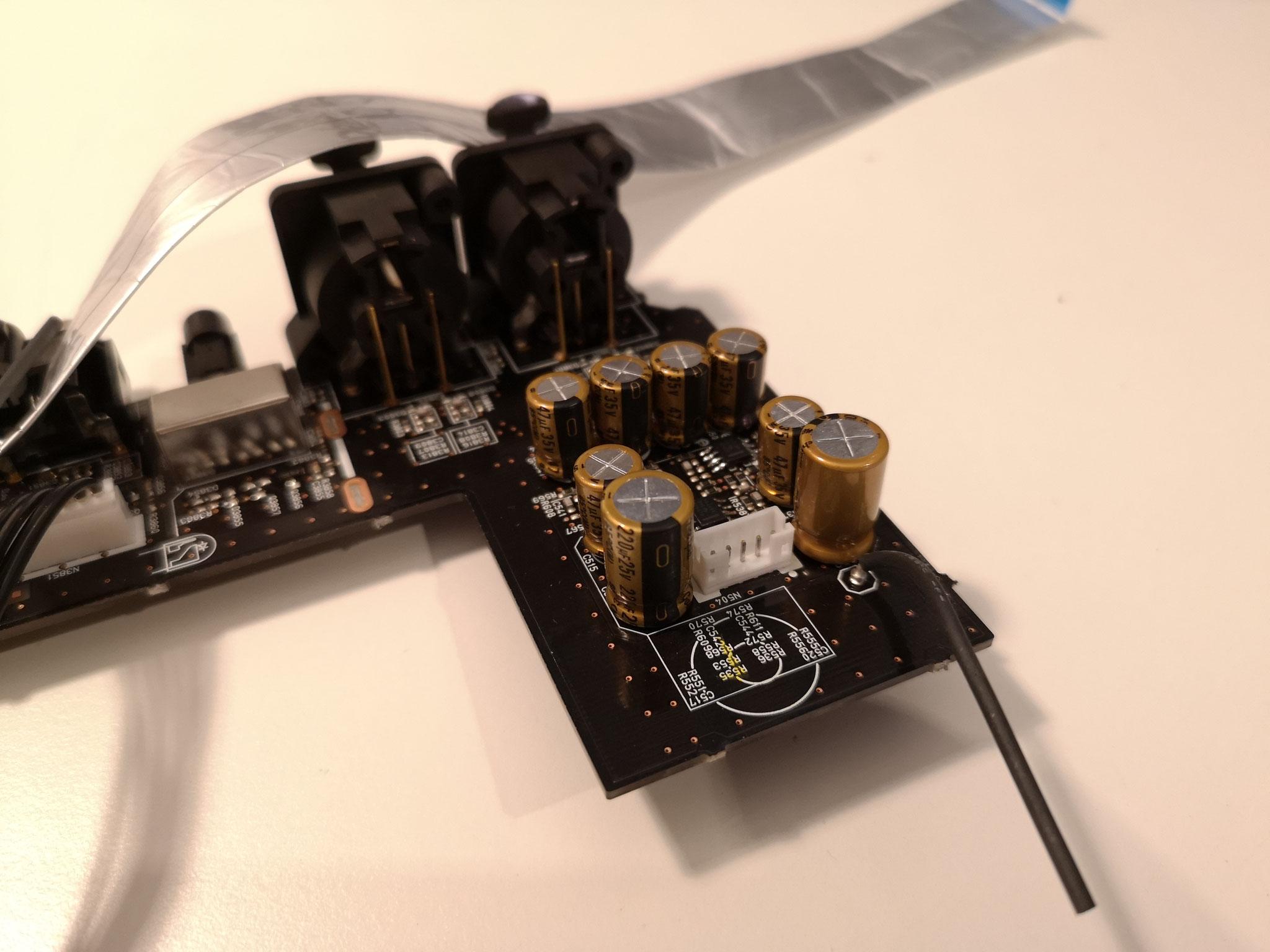 AV8805 XLR In Board mit hochwertiger Bestückung und besten Operationsverstärkern