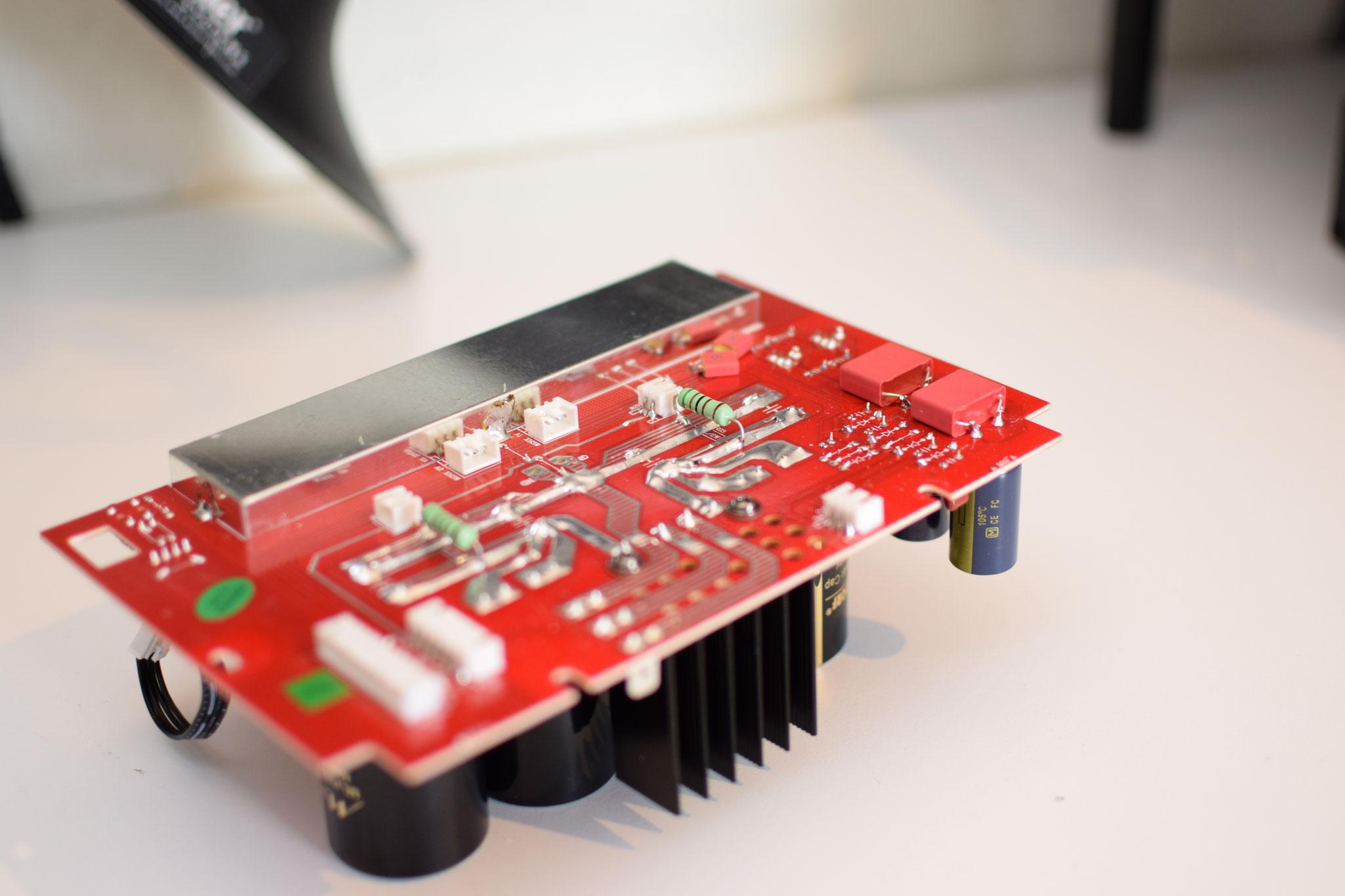 Advacne Acoustic Paris X-A160 Pufferboard modifiziert