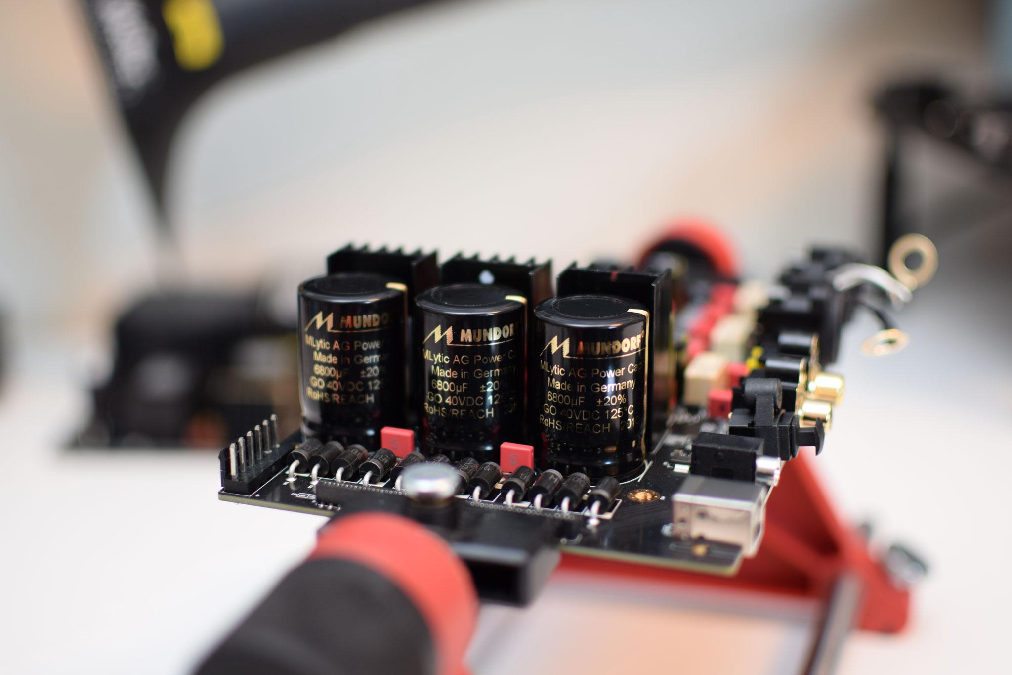 Zidoo UHD 3000 authentic cinemaAnalogboard Mundorf