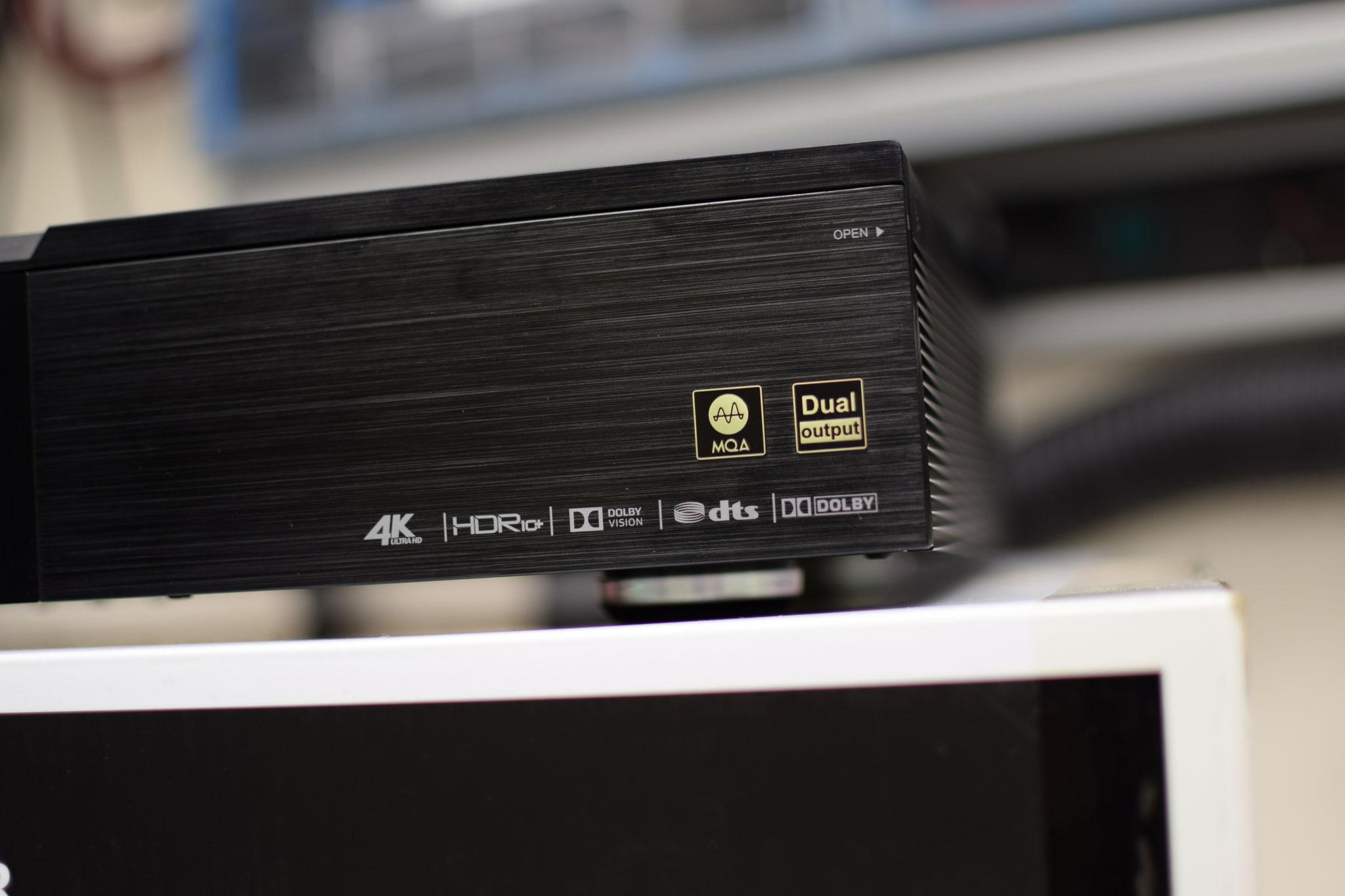 Zidoo UHD 3000 MQA