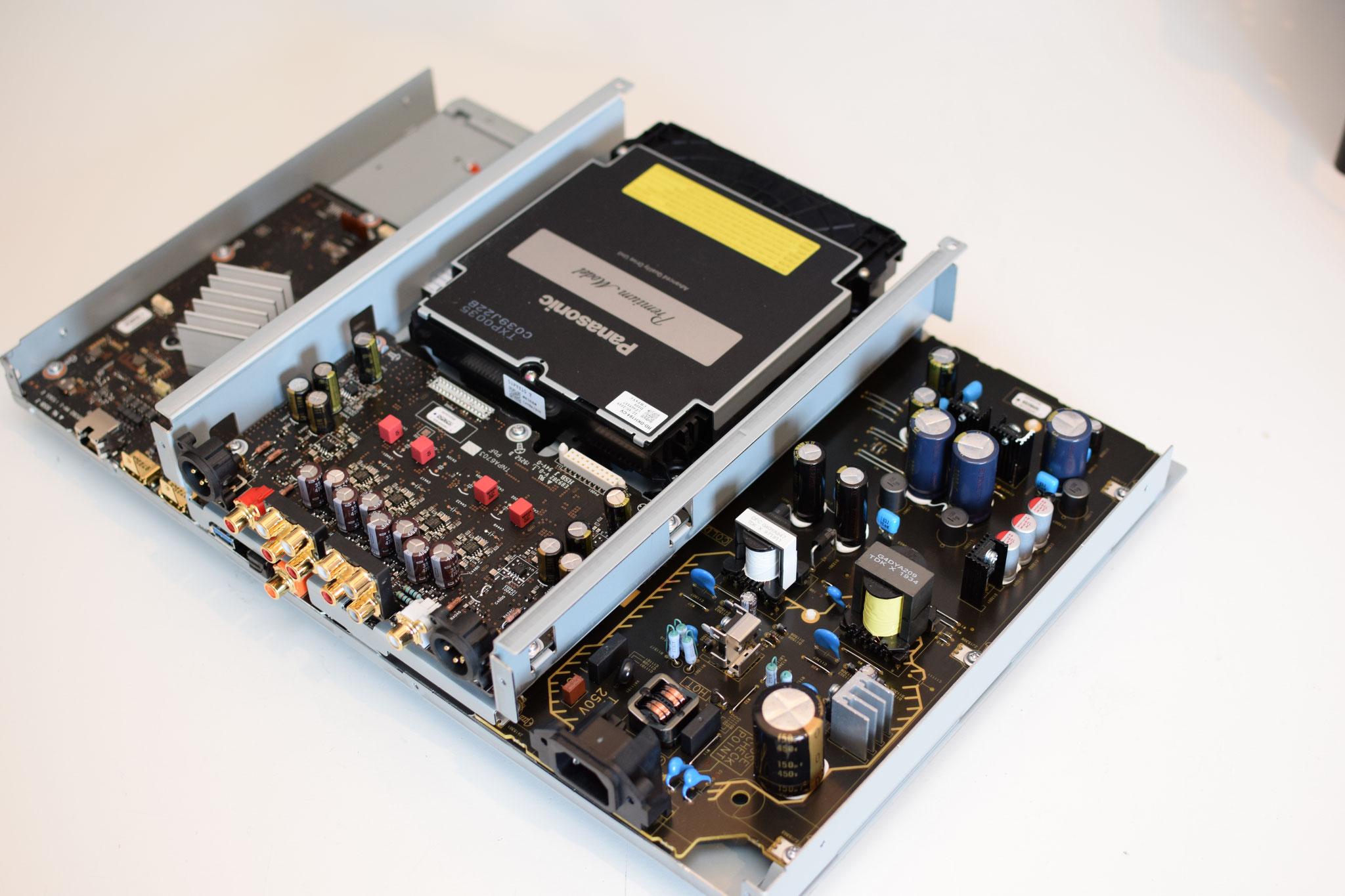 Panasonic DP-UB9004 9000 Netzteil und Analogboard