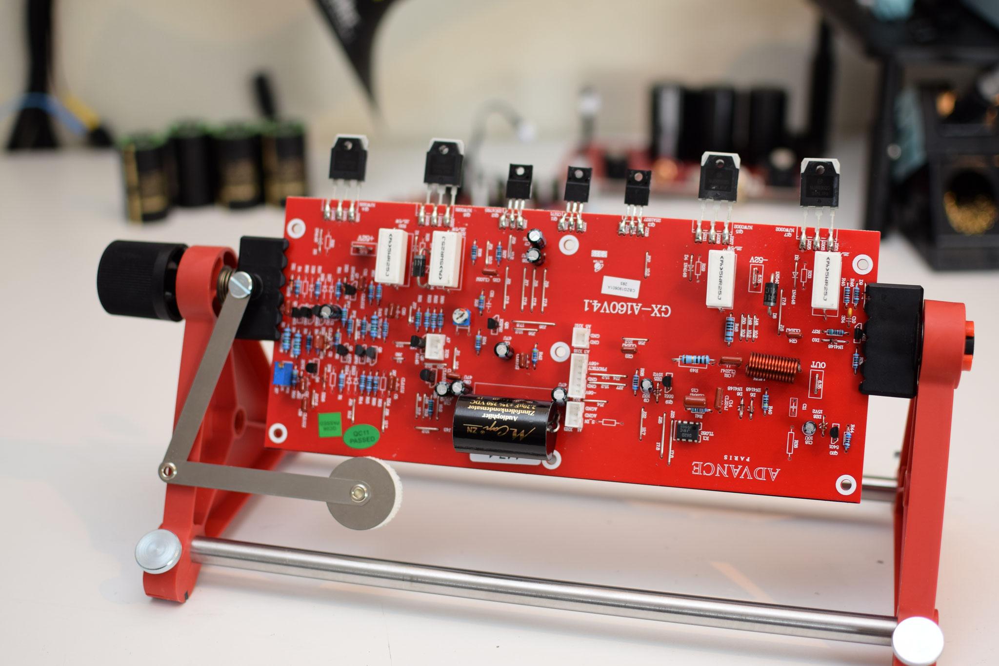 Advacne Paris X-A160 Amp Board modification