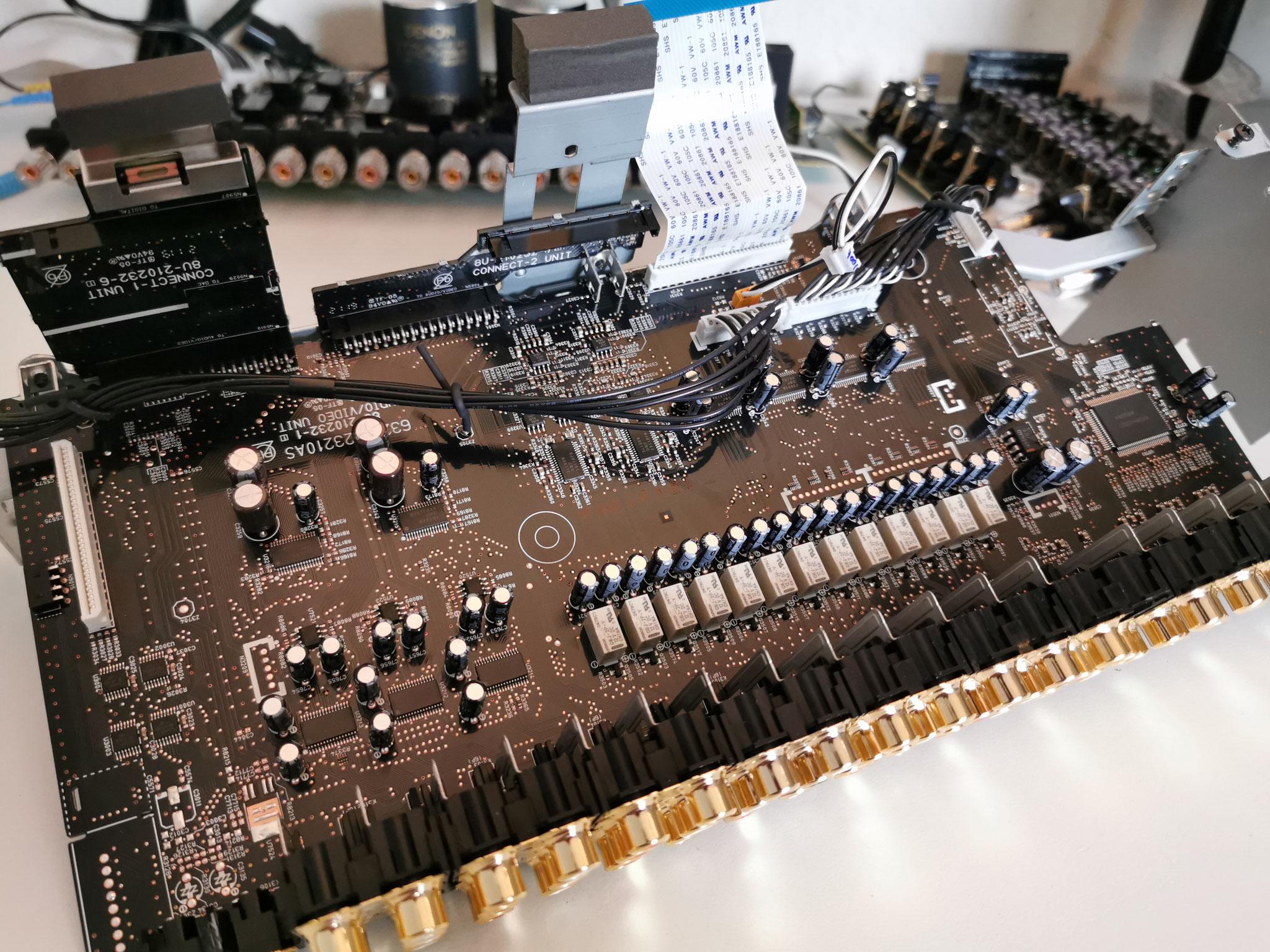 Denon AVC-X8500H Input Output Board