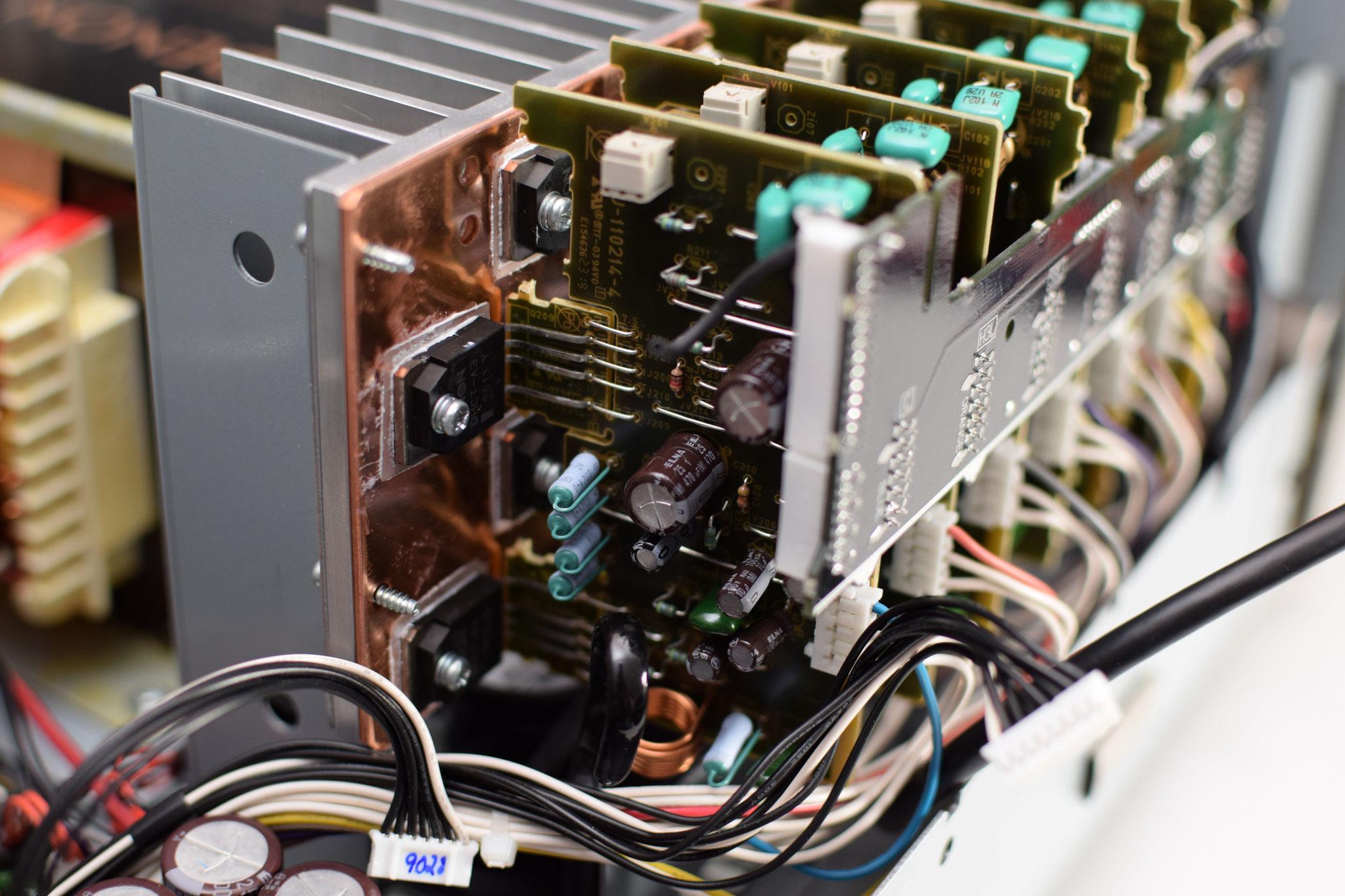 Denon AVC-X8500H diskrete Endstufenmodule
