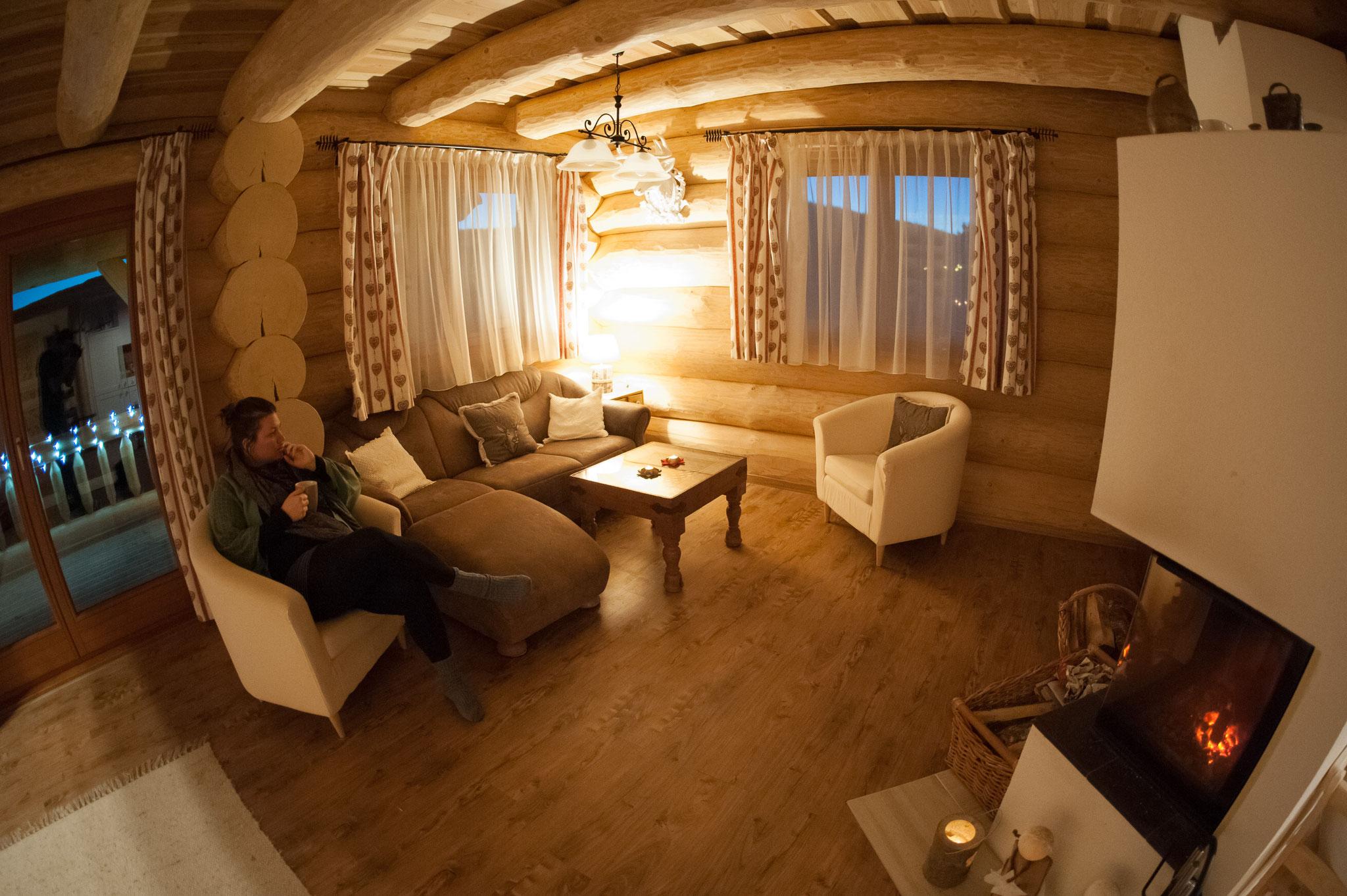 ins blockhaus blockhausurlaub drechsler. Black Bedroom Furniture Sets. Home Design Ideas