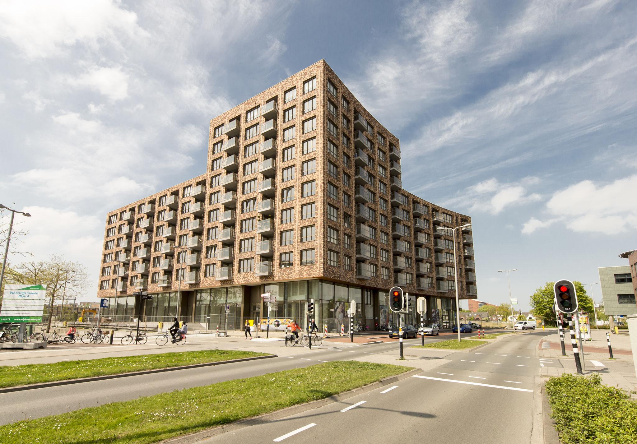 Appartementen te Alphen aan de Rijn
