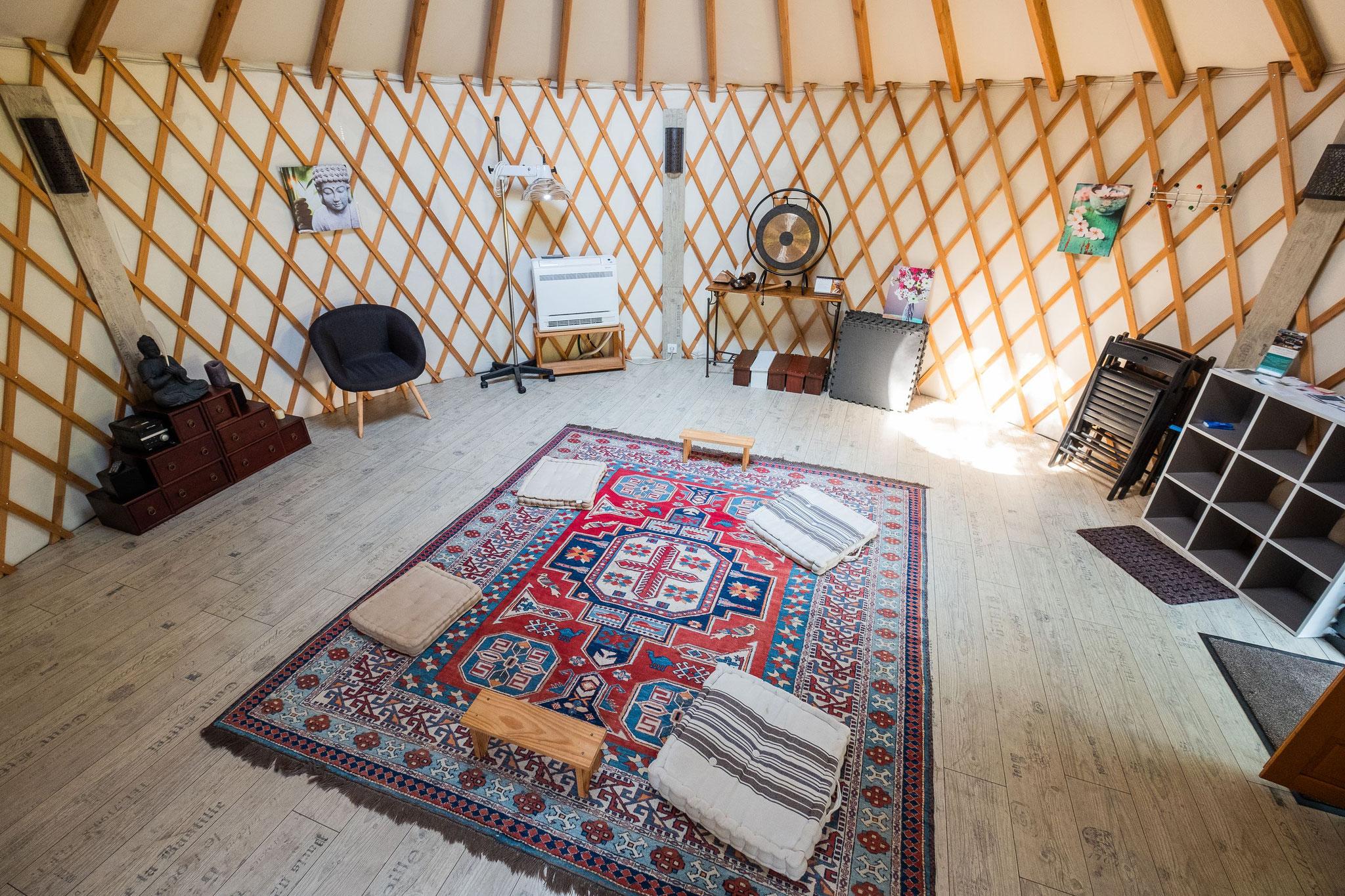 intérieur espace domegaia