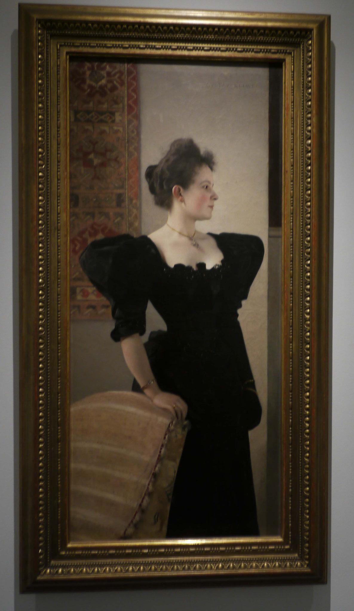Gustav Klimt, Sonderausstellung Venedig, Portrait unbekannter Frau