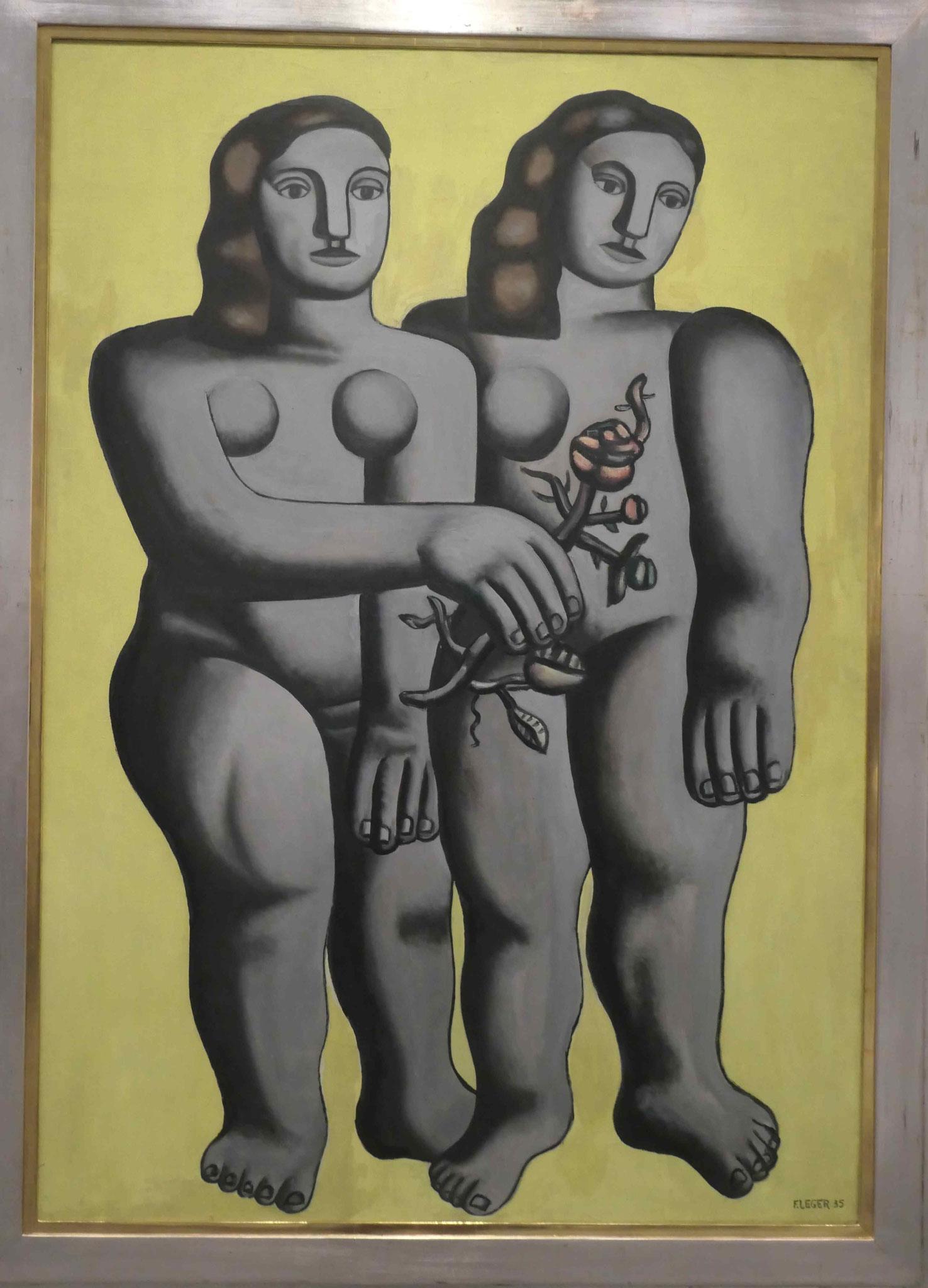 Fernando Botero, zwei Schwestern, 1935, Neue Nationalgalerie Berlin