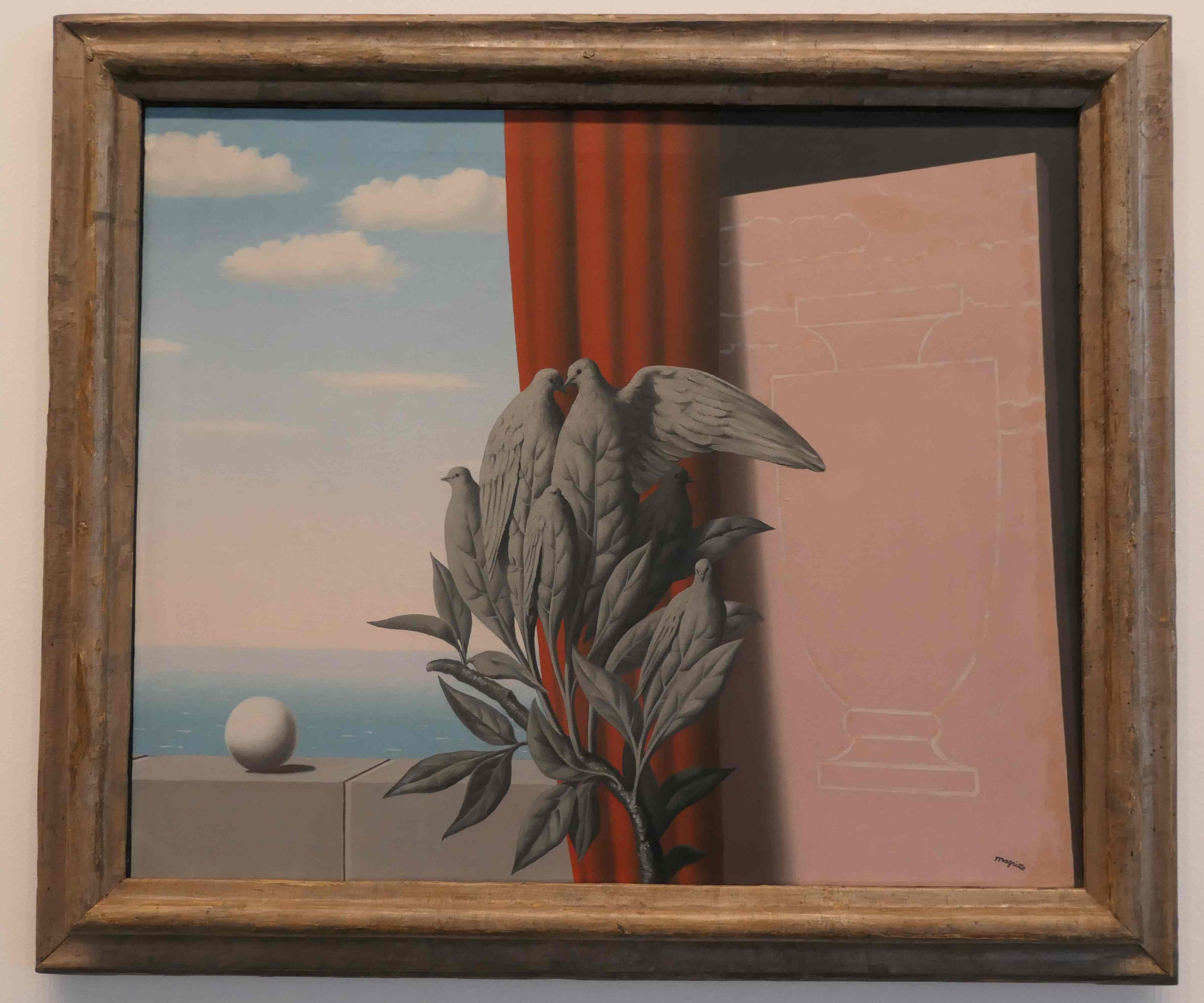 René Margrit, Der Äquator, 1942, Neue Nationalgalerie Berlin