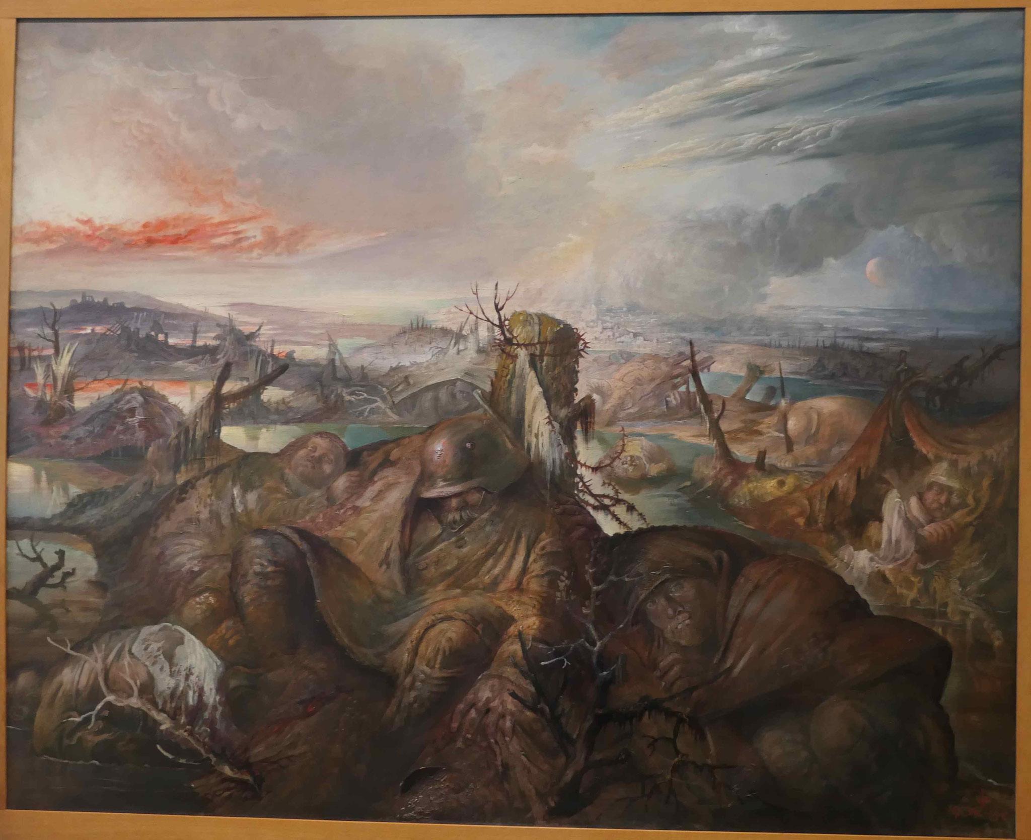 Otto Dix, Flandern, 1934-36, Neue Nationalgalerie Berlin