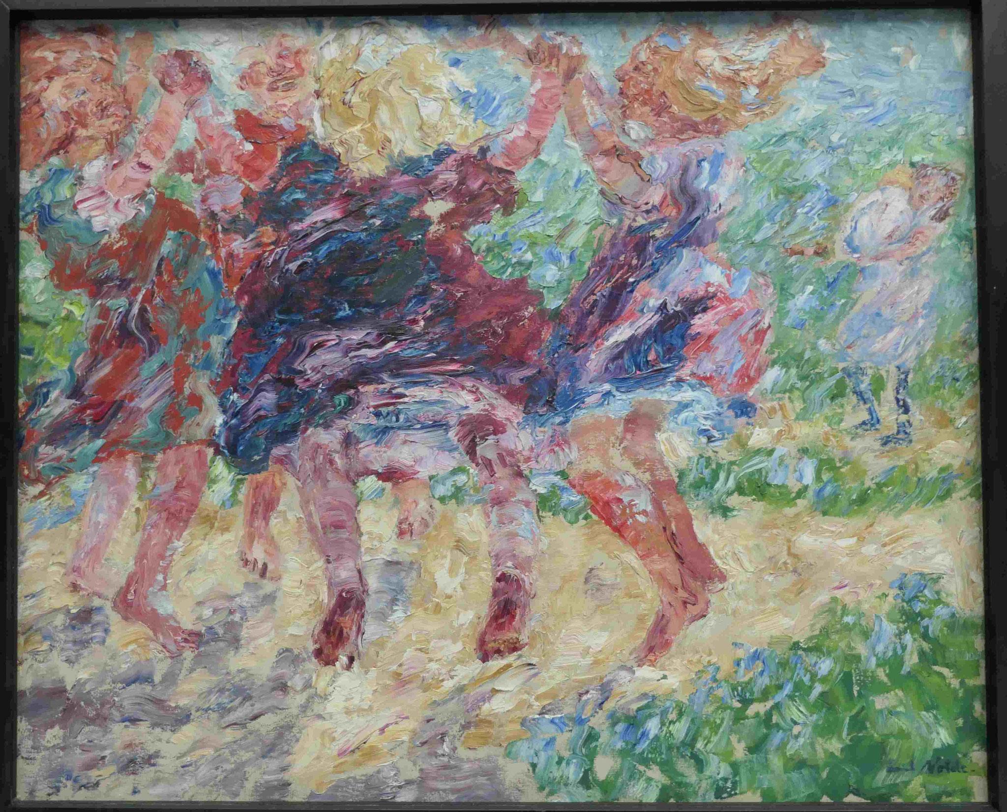 Emil Nolde, Wildtanzende Kinder, 1909,Kunsthalle zu Kiel