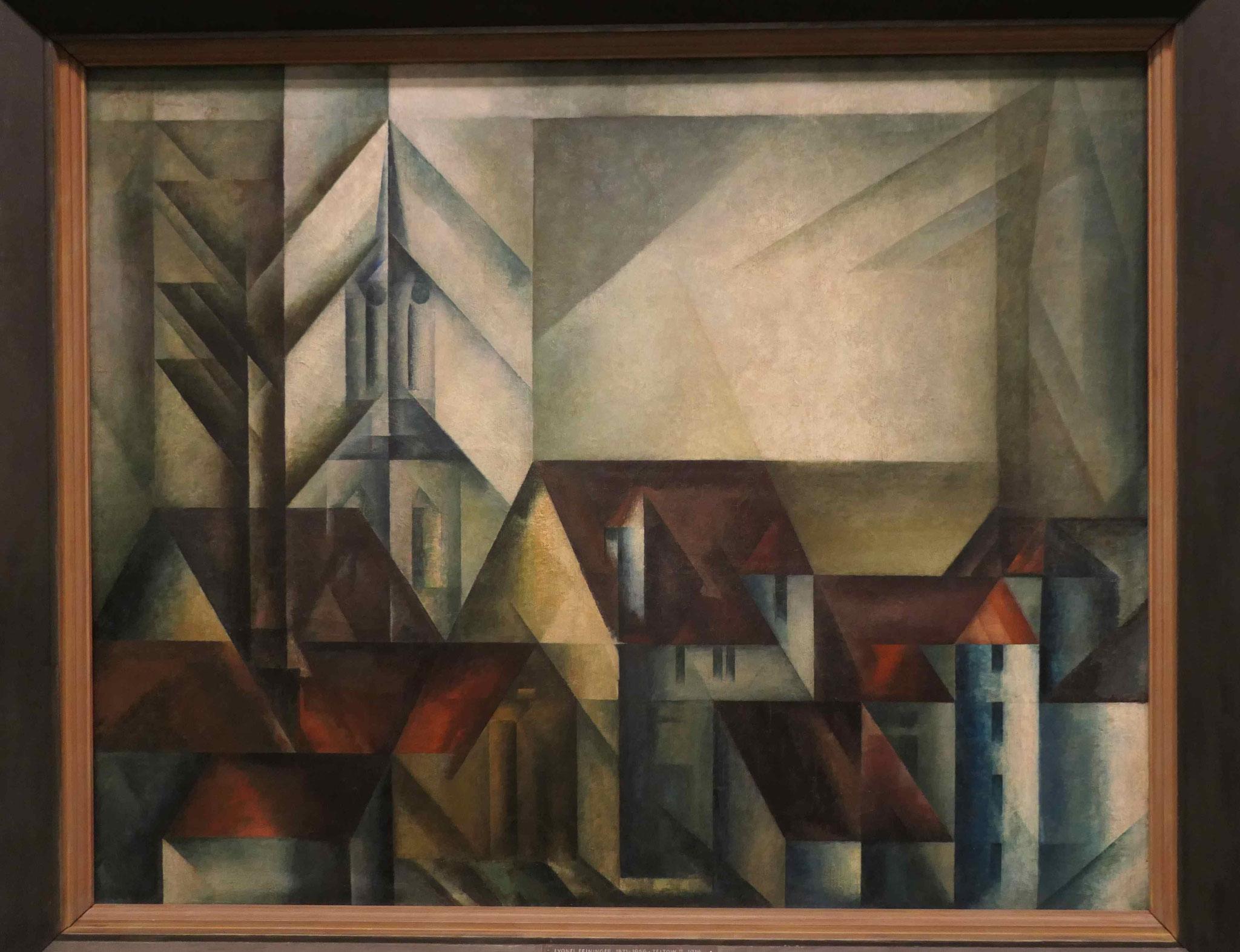 Lyonel Feininger, Teltow II. 1918, Neue Nationalgalerie Berlin