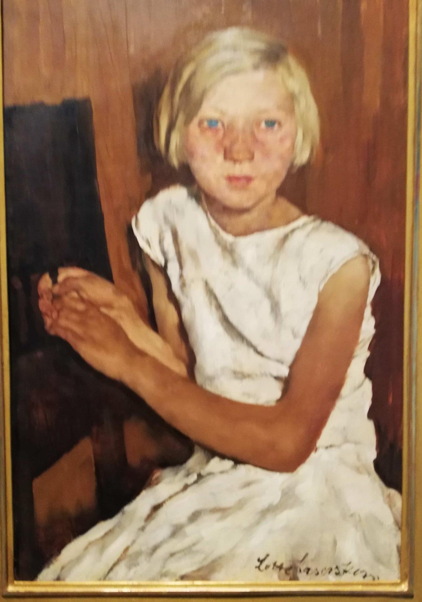 Lotte Laserstein, Bauerntochter, 1930