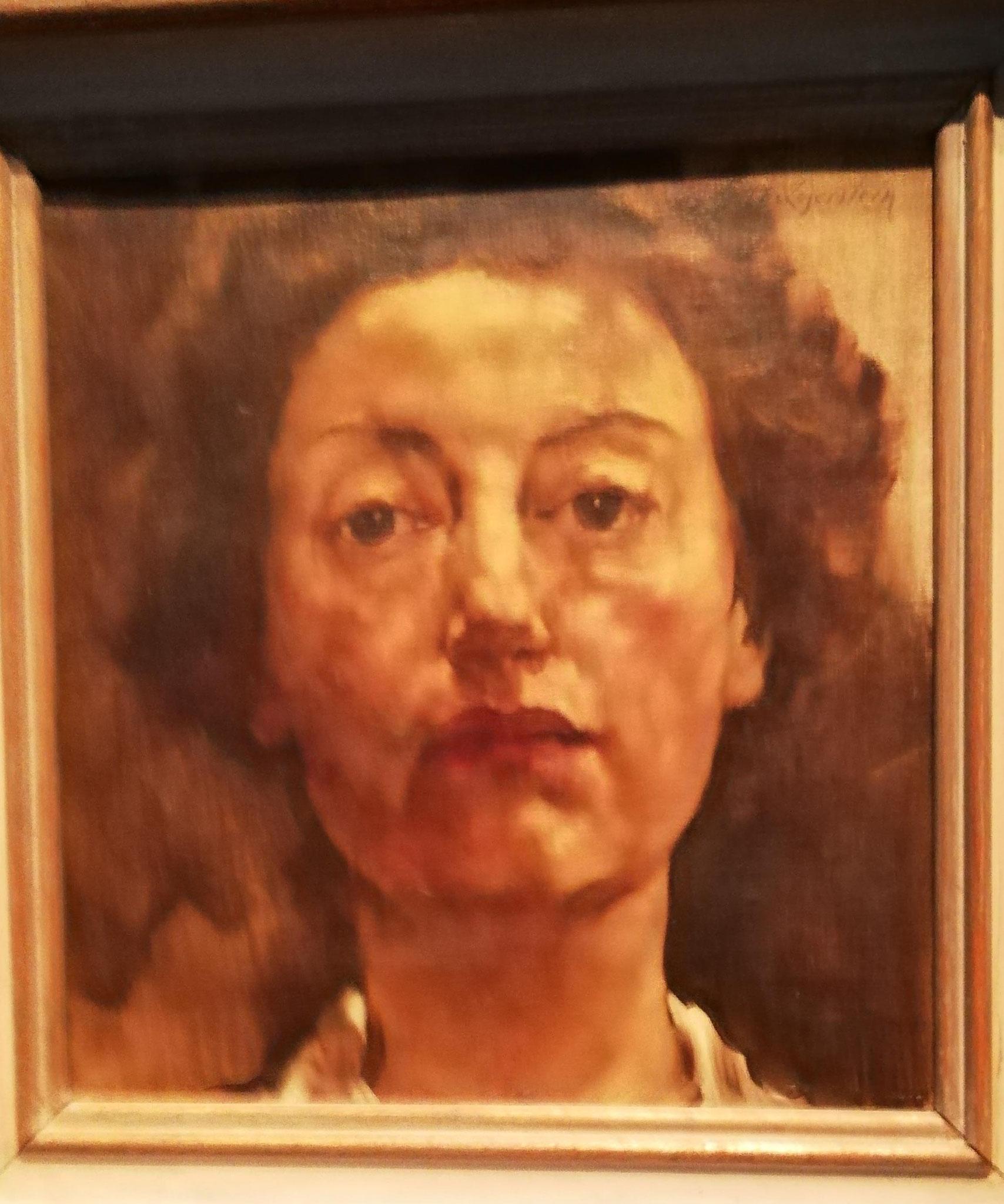 Lotte Laserstein, Selbstporträt, 1934