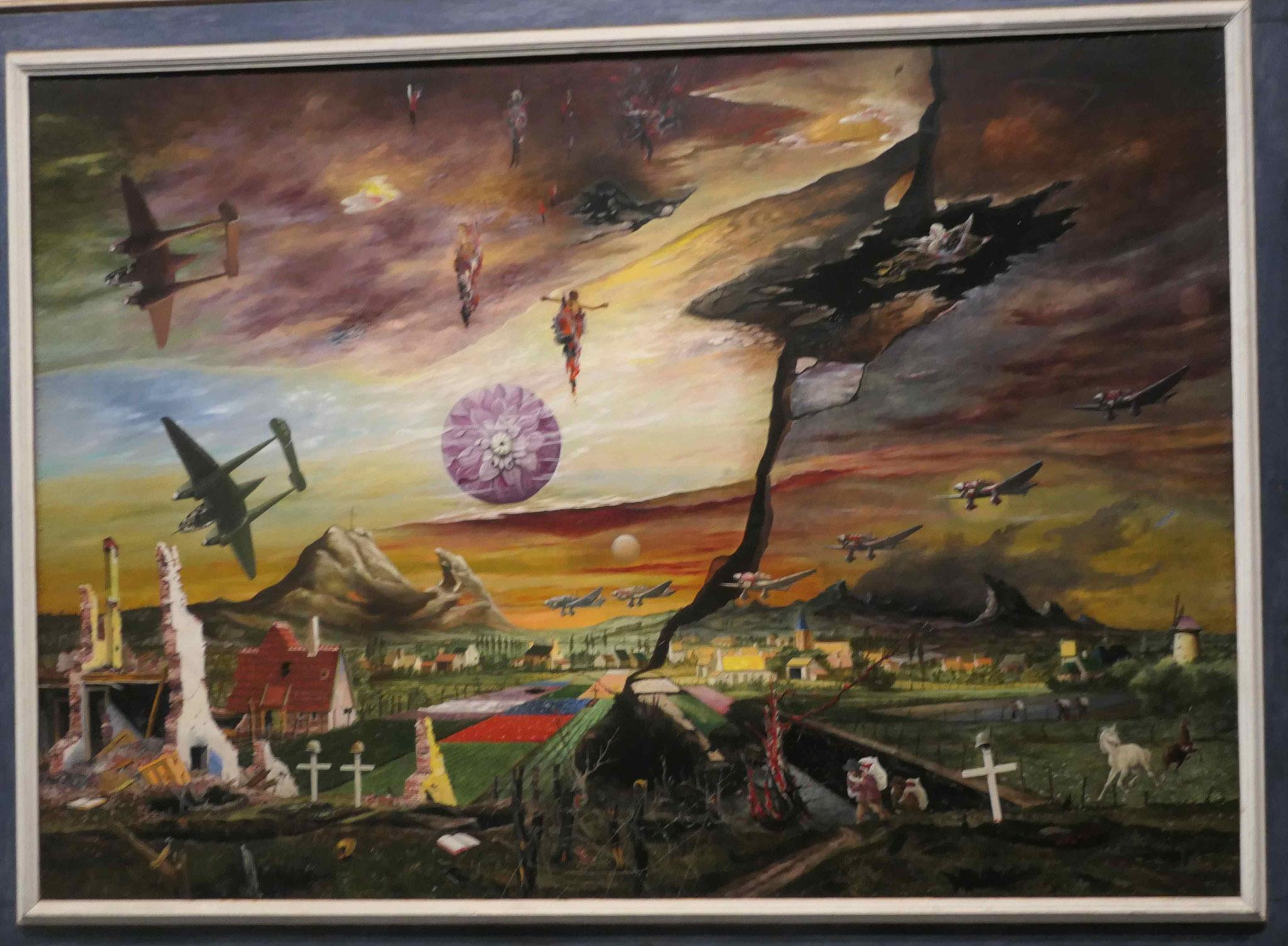 Franz Radziwill, Flandern (Wohin in dieser Welt), 1940/1950, Neue Nationalgalerie Berlin