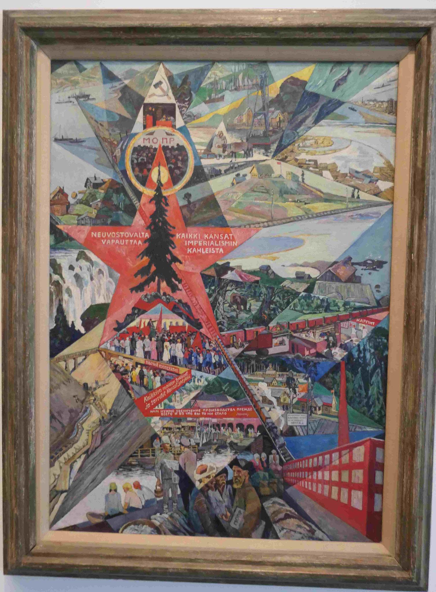 Heinrich Vogeler, Karelien und Murmansck, 1926, Nationalgalerie Berlin