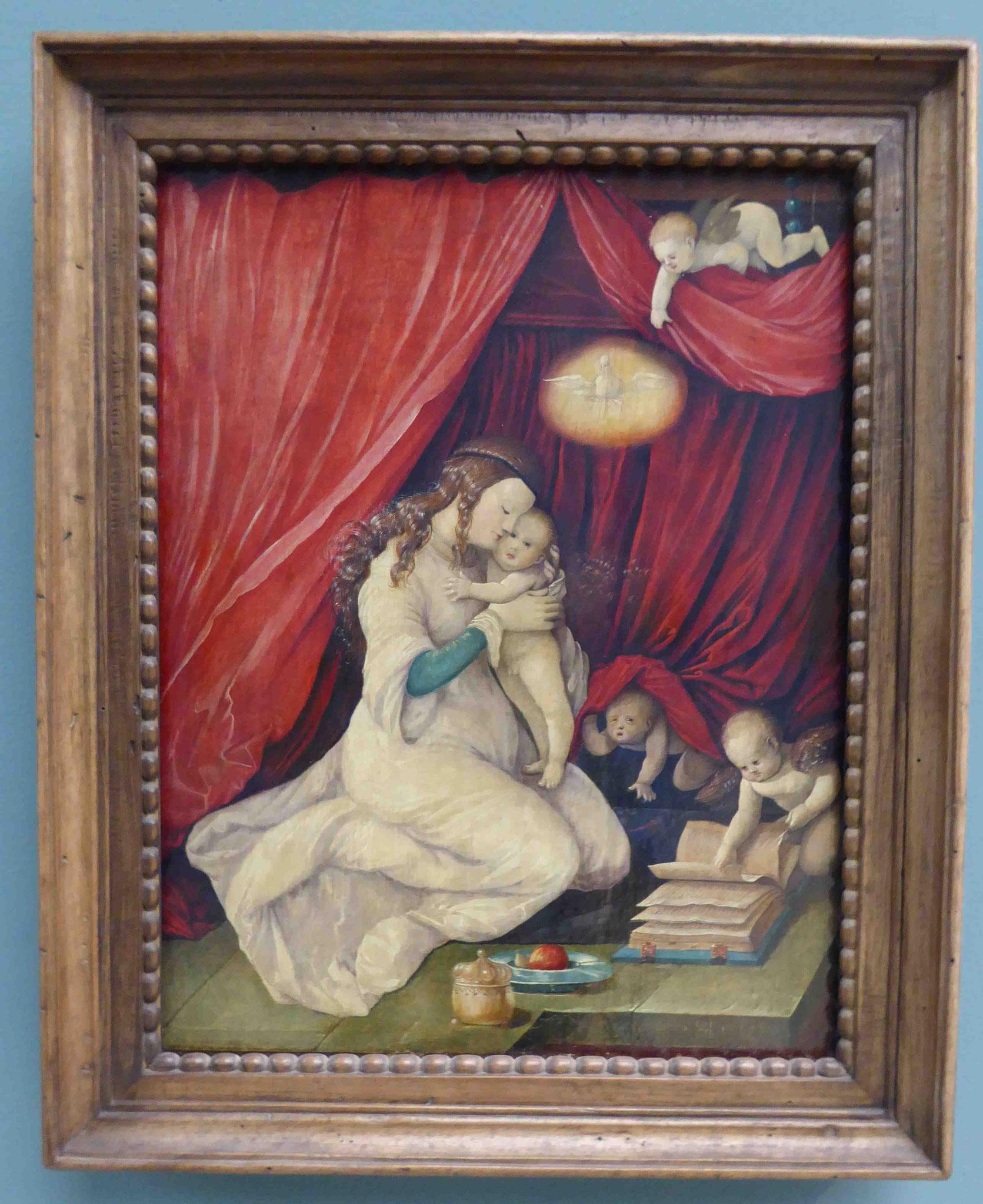 Madonna, Hans Baldung Grien, Germanisches Nationalmuseum Nürnberg
