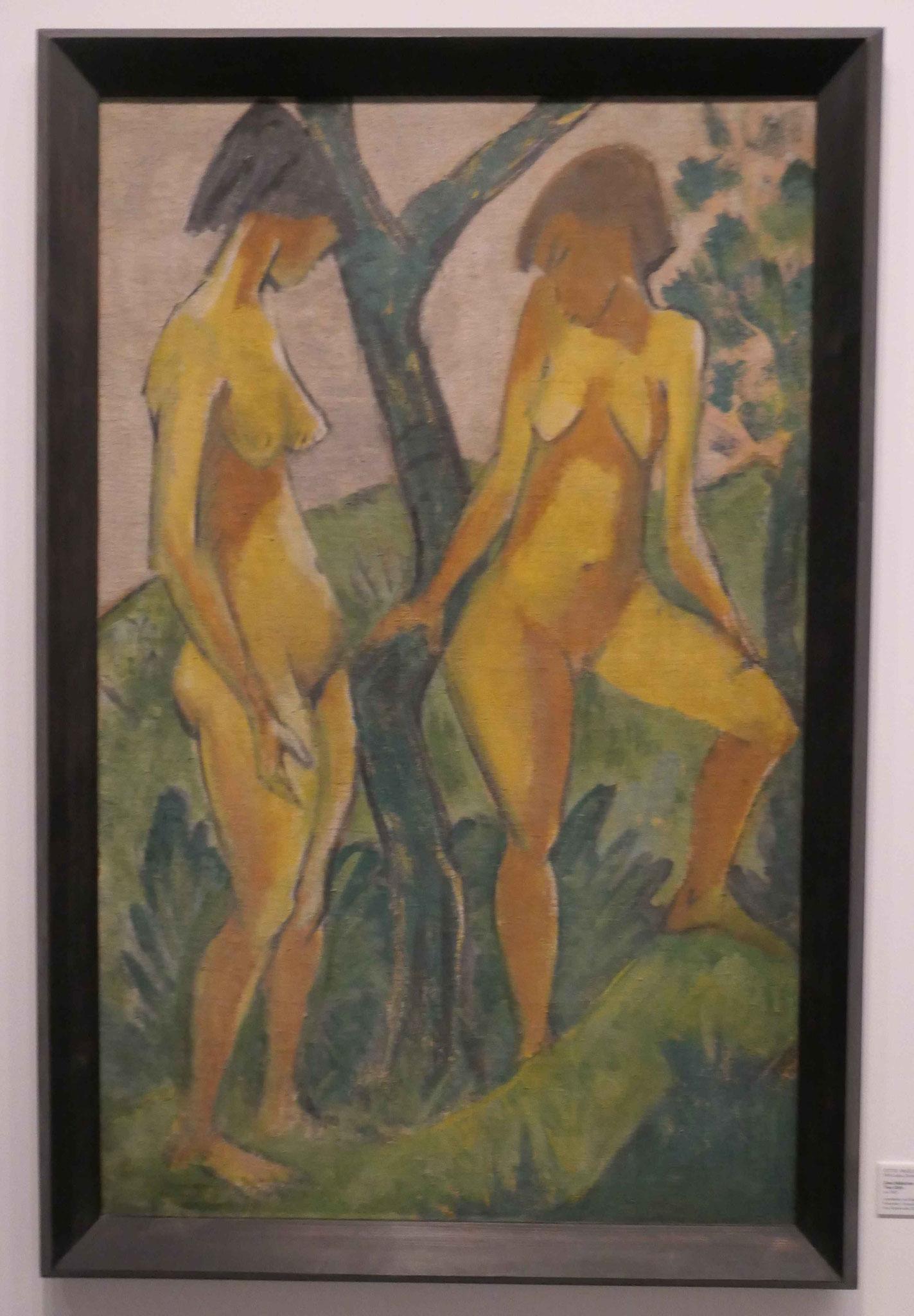 Otto Mueller, Zwei Mädchen, 1927, Nationalgalerie Berlin